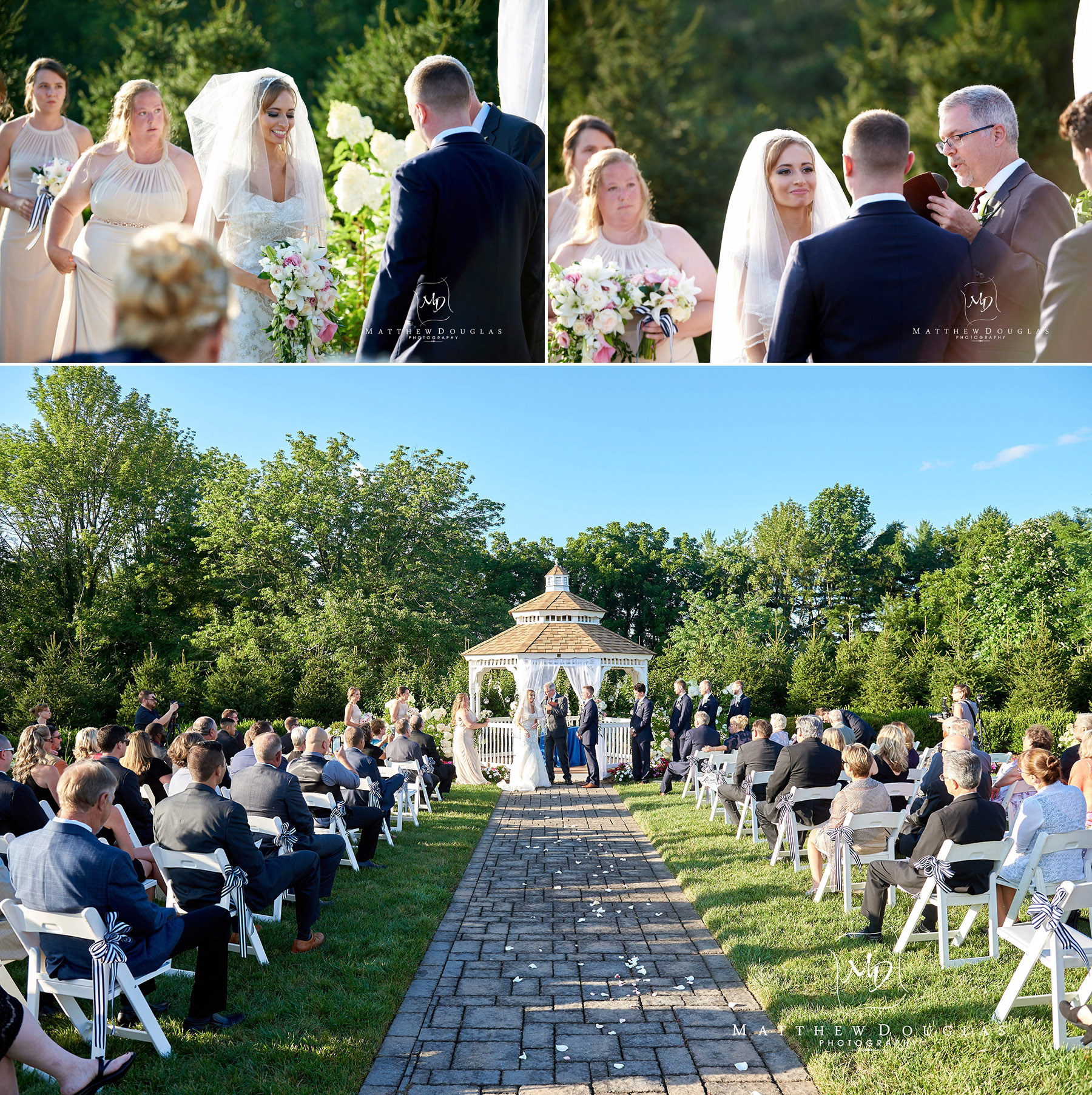 cermony at the farmhouse at the grand colonial