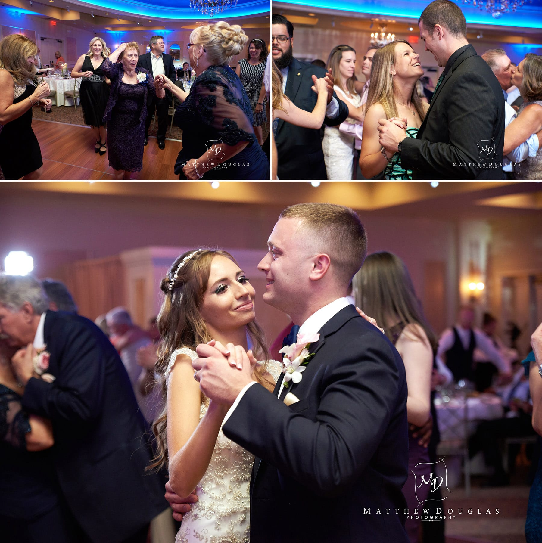 romantic wedding dances at the farmhouse at the grand colonial