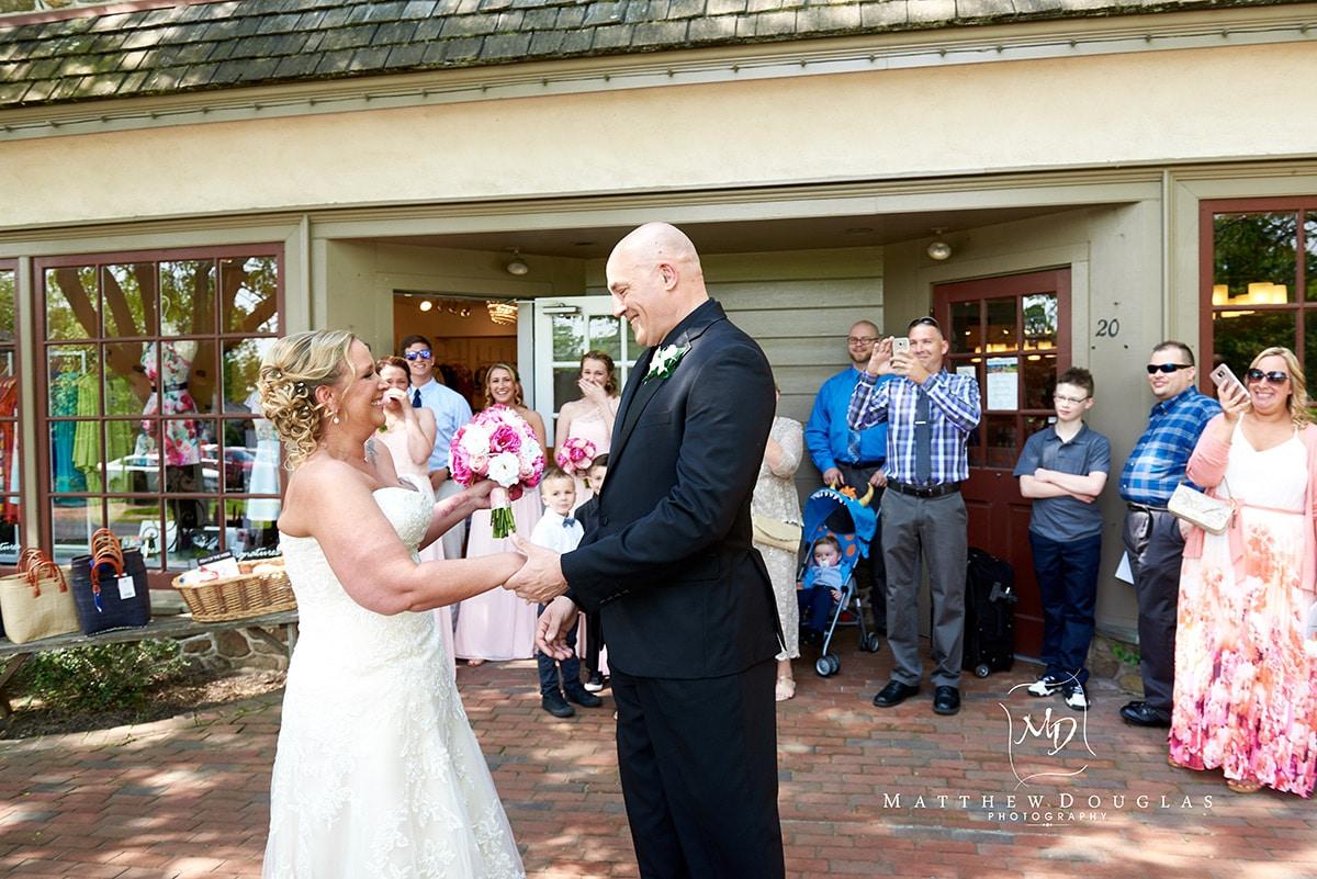 Peddlers Village Wedding