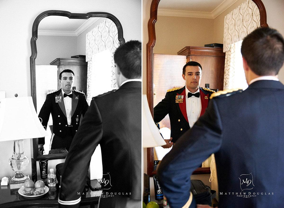 Wedding photos at the Bernards Inn NJ