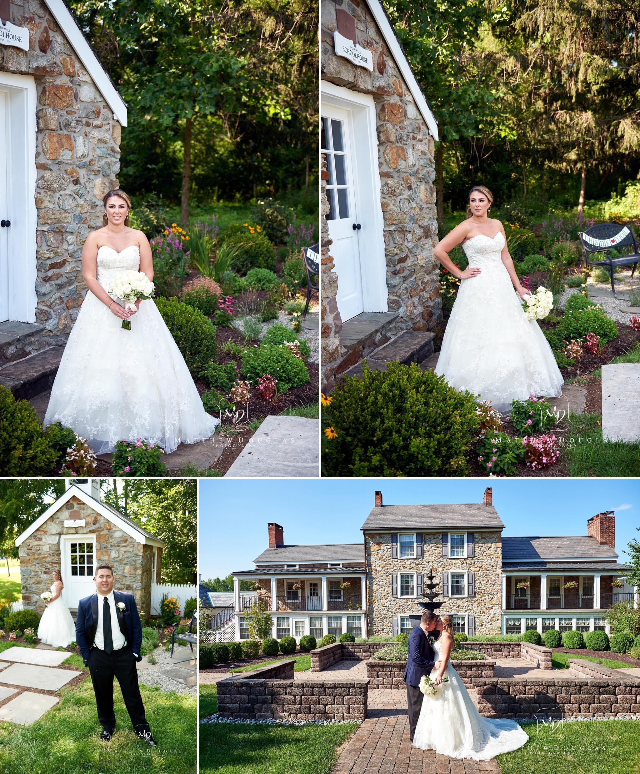 elegant Wedding at The Farmhouse at the Grand Colonial in Hampton NJ