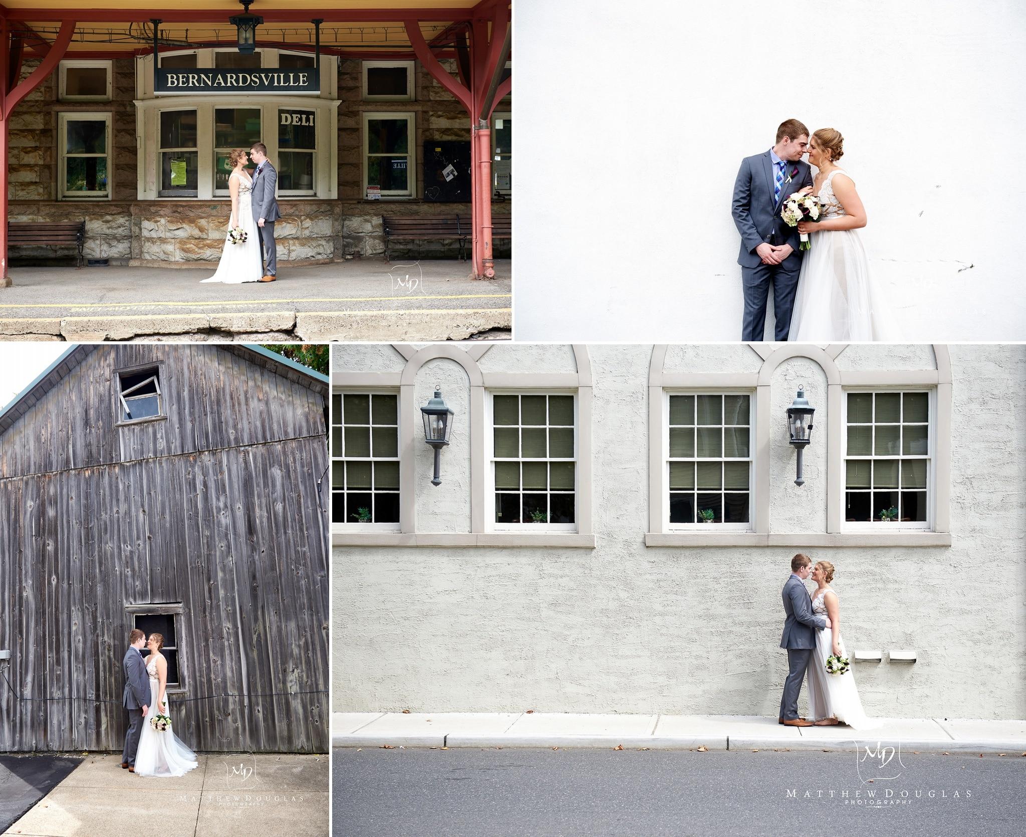 An intimate wedding at The Bernards Inn