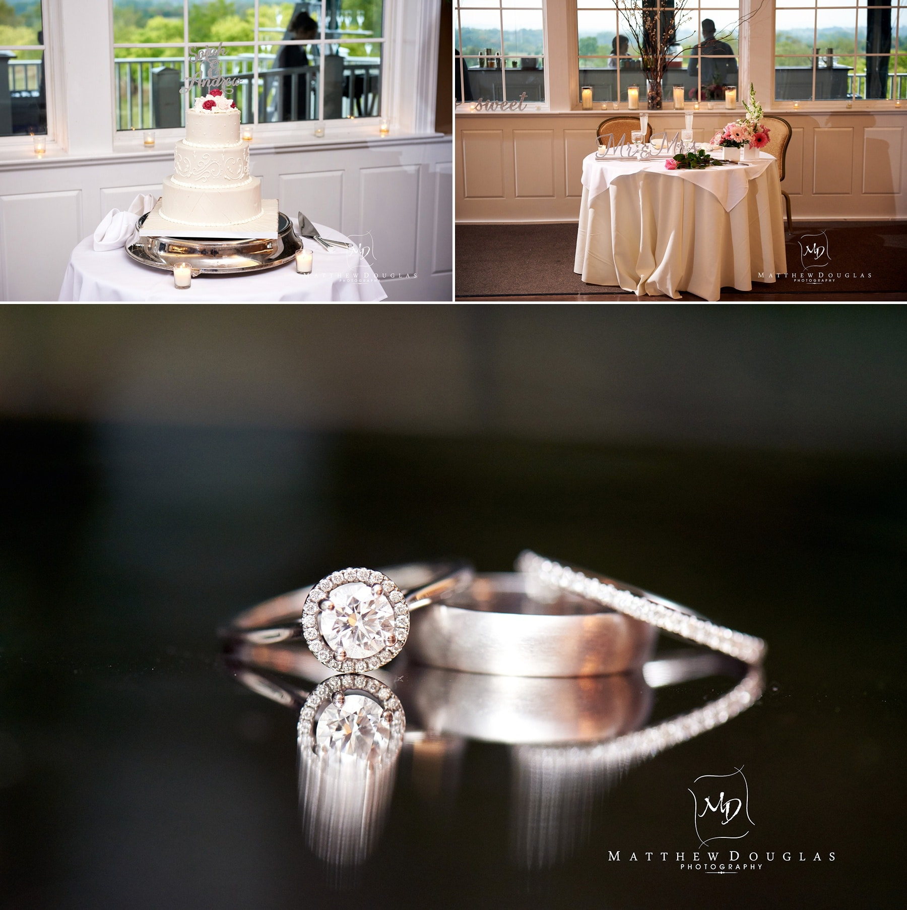 Wedding at Neshanic Valley Golf course in NJ