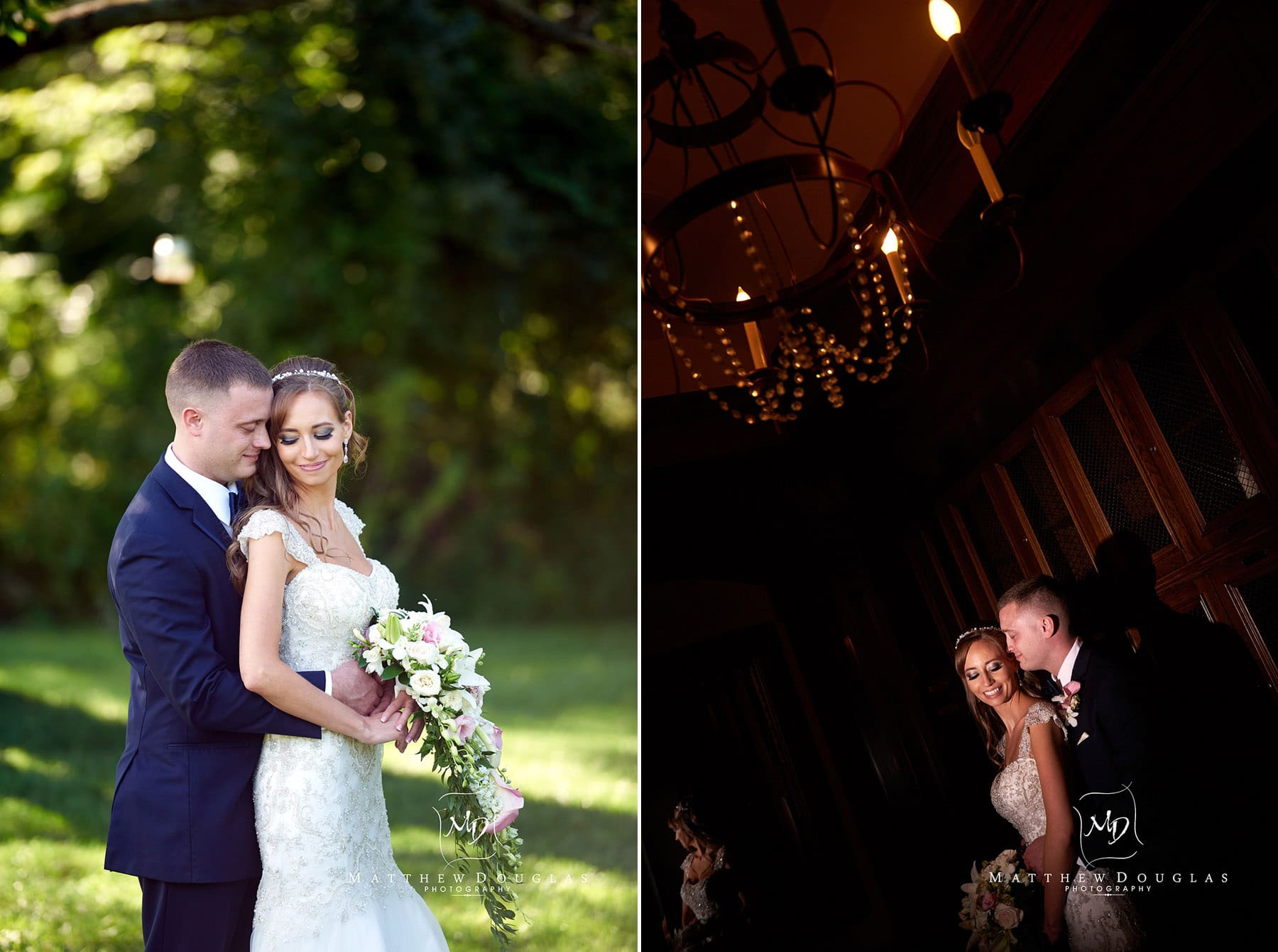 romantic wedding couple at the farmhouse at the grand colonial