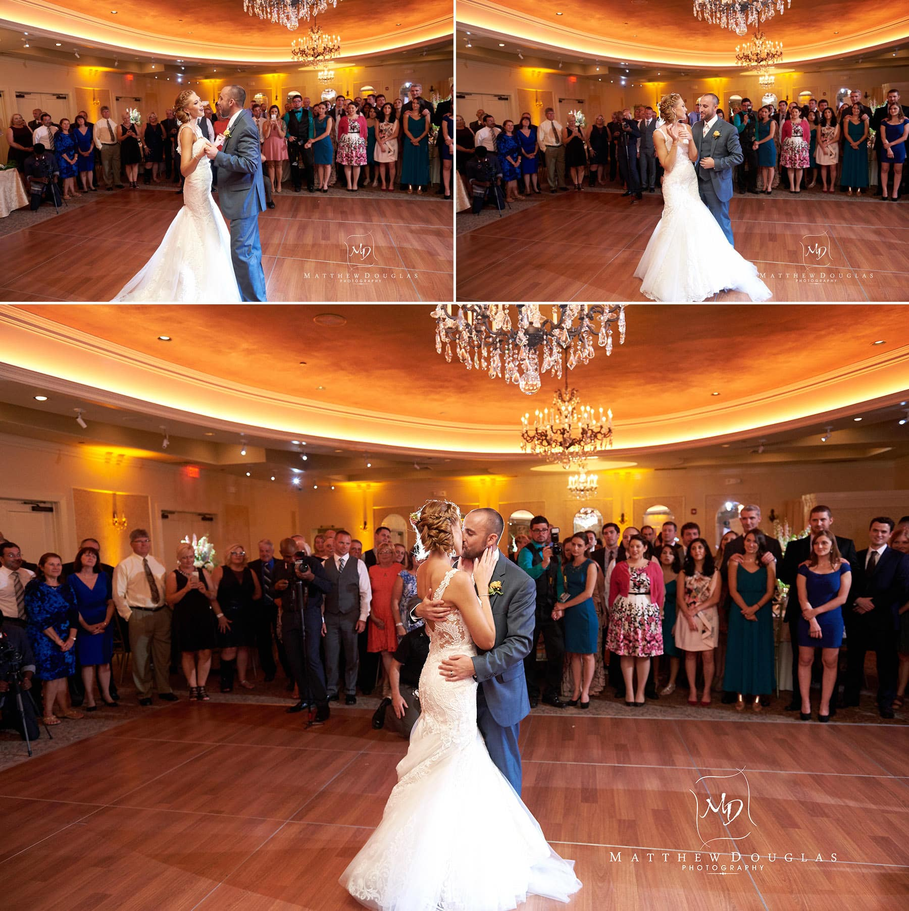 first dance at The Farmhouse at The Grand Colonial