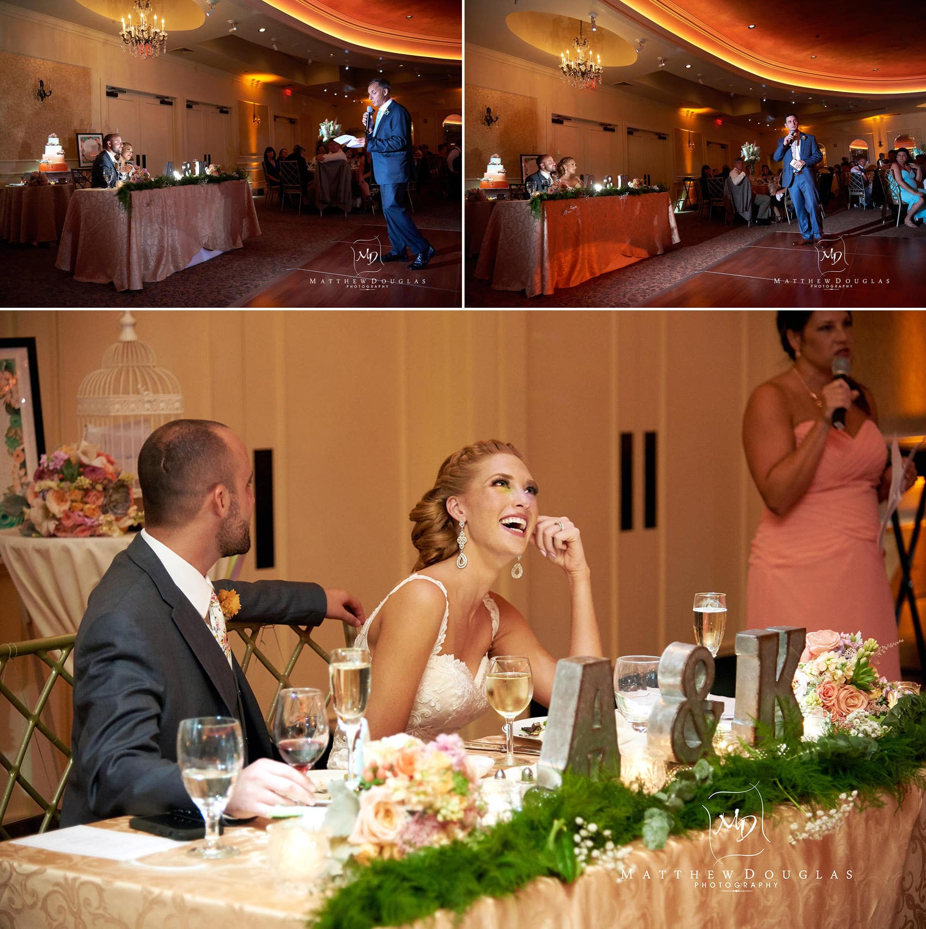 wedding toasts at The Farmhouse at The Grand Colonial