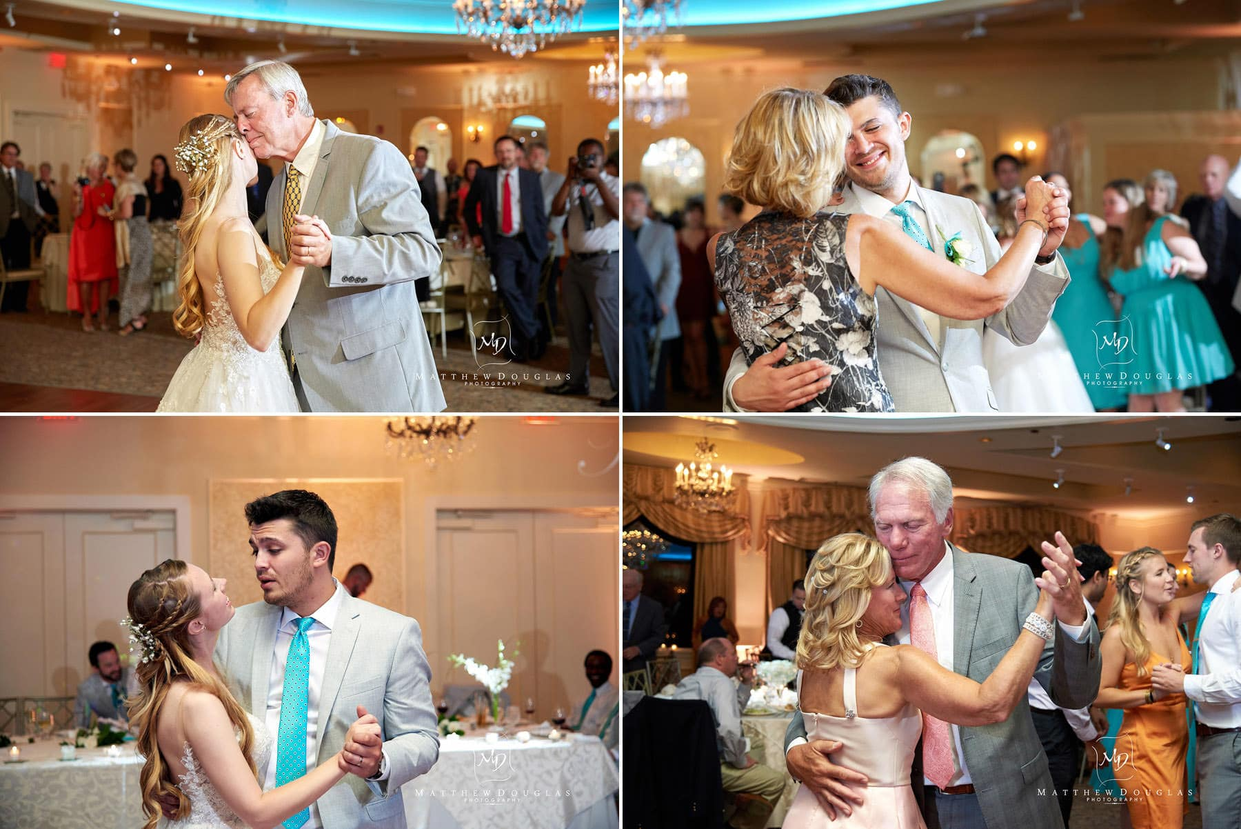 parent dances wedding photo at the farmhouse at the grand colonial