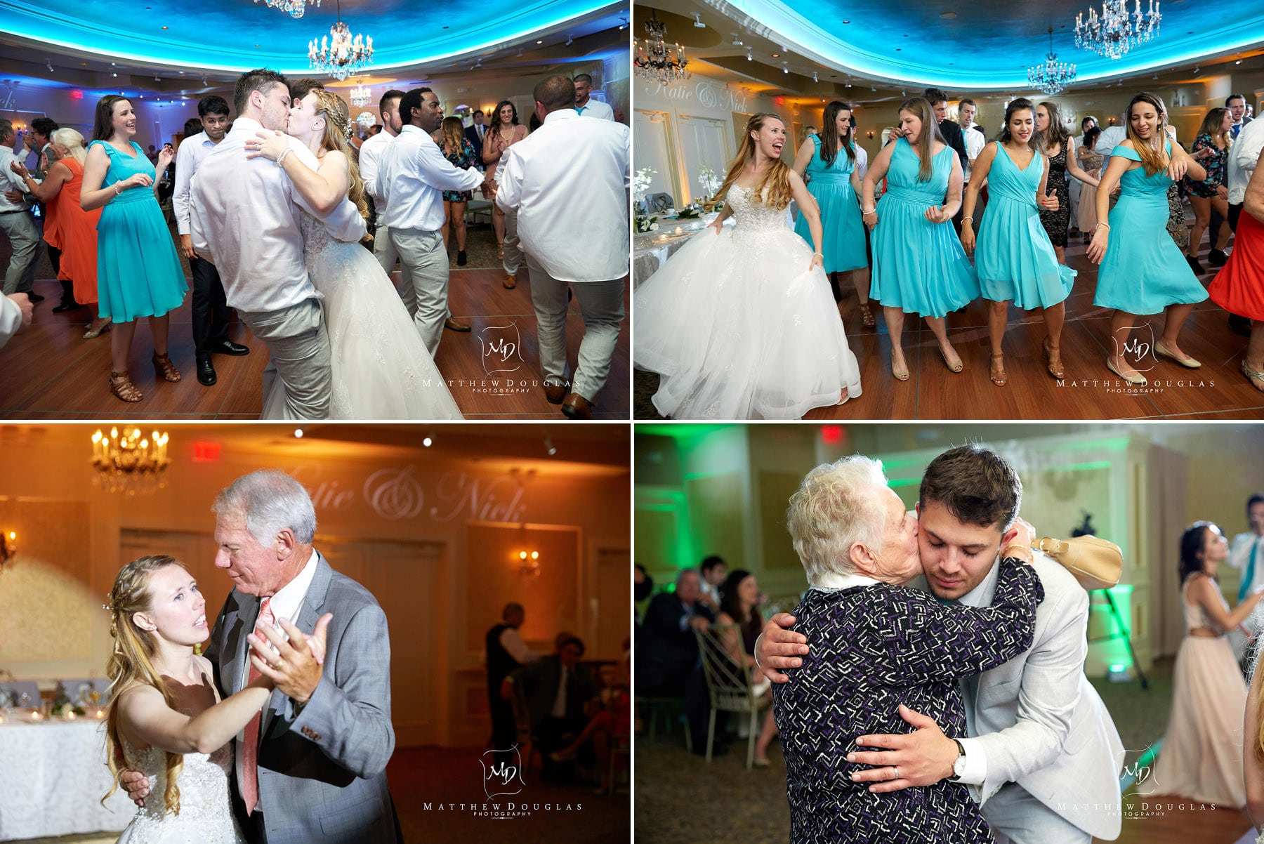 wedding dancing at the farmhouse at the grand colonial