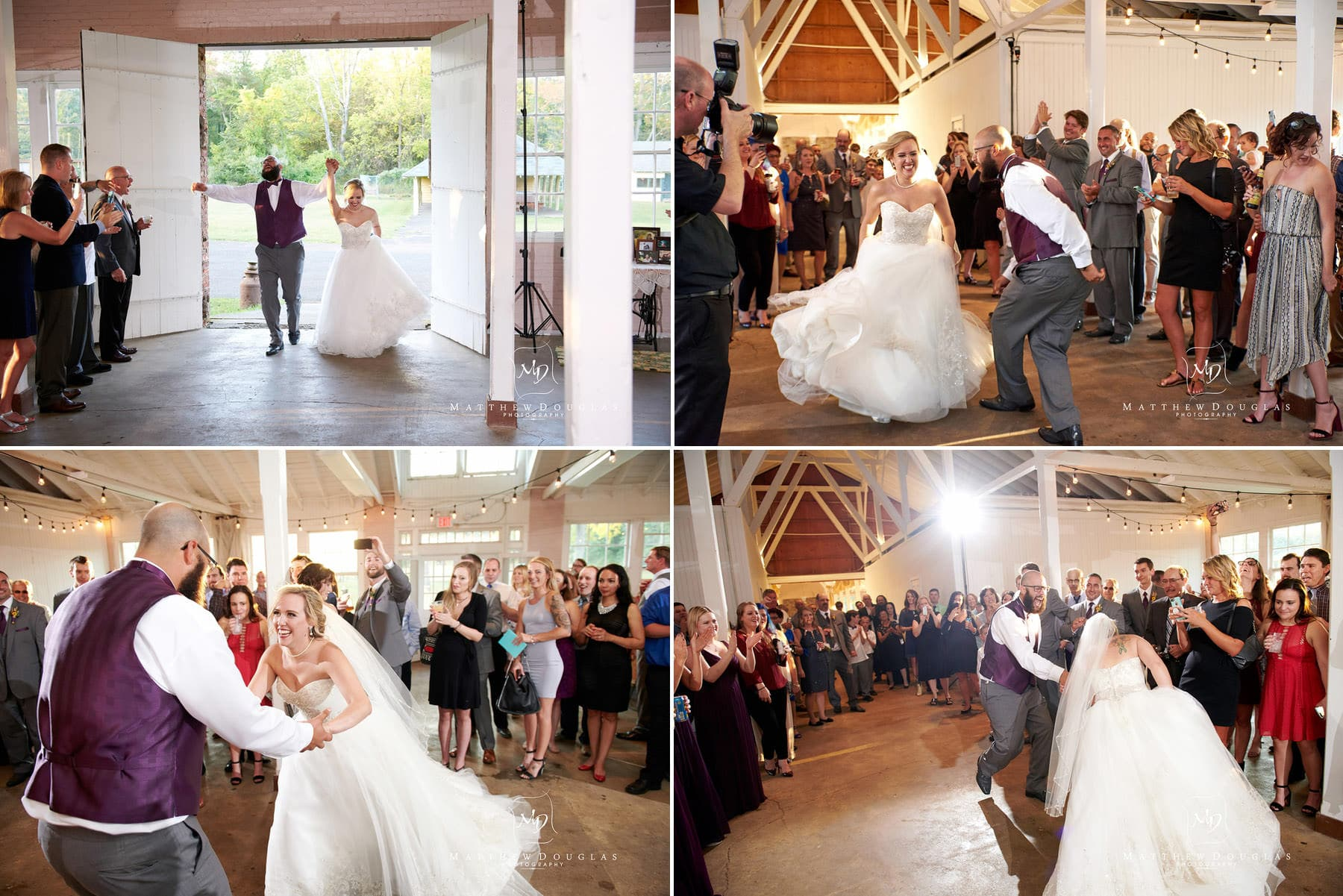 wedding first dance at brady life camp