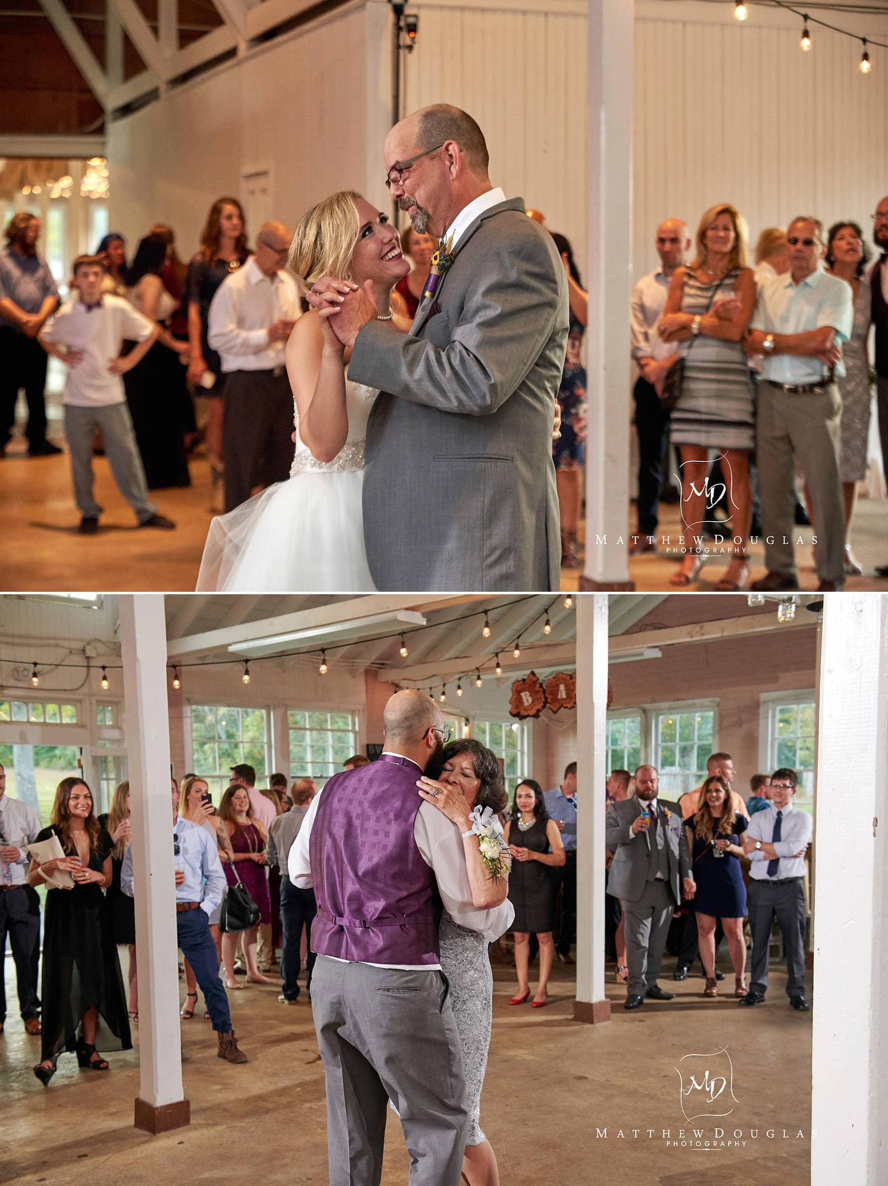 wedding parent dance photo brady life camp