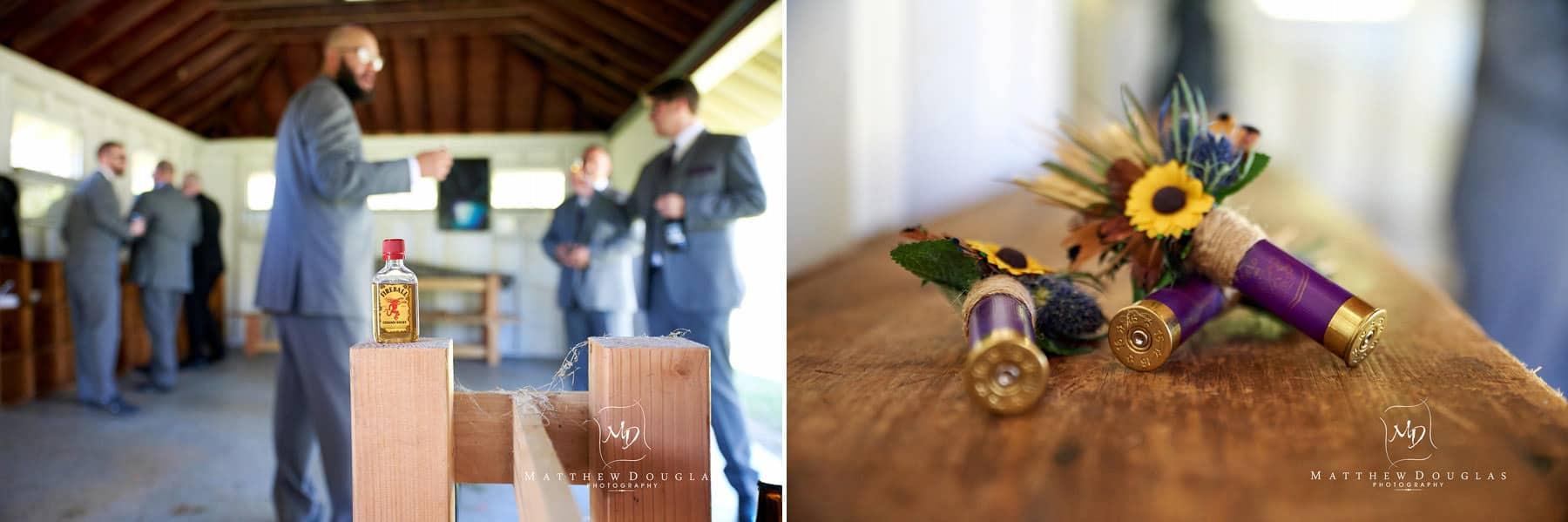 groom details wedding brady life camp