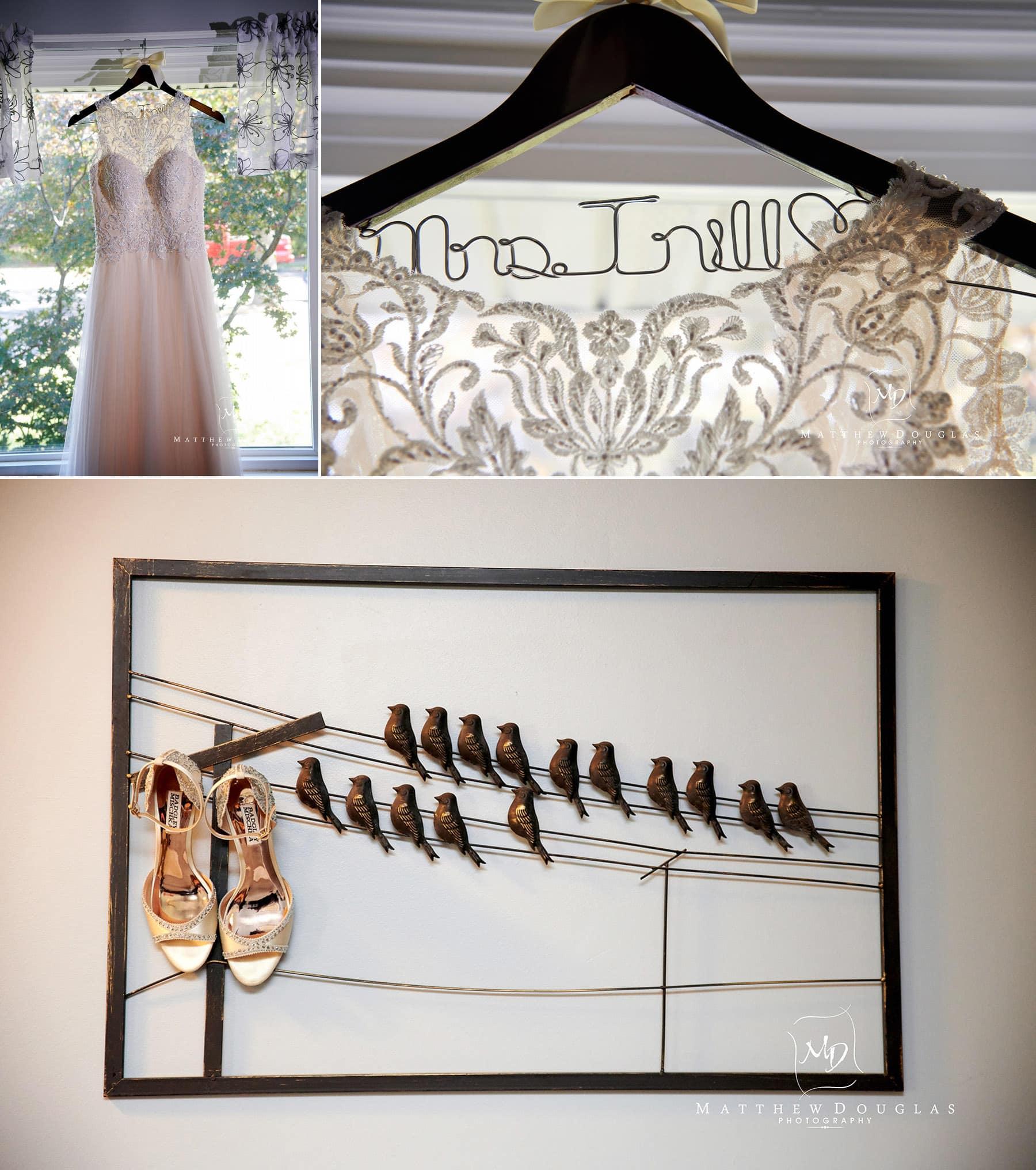 bride details at The Estate at Farrington Lake
