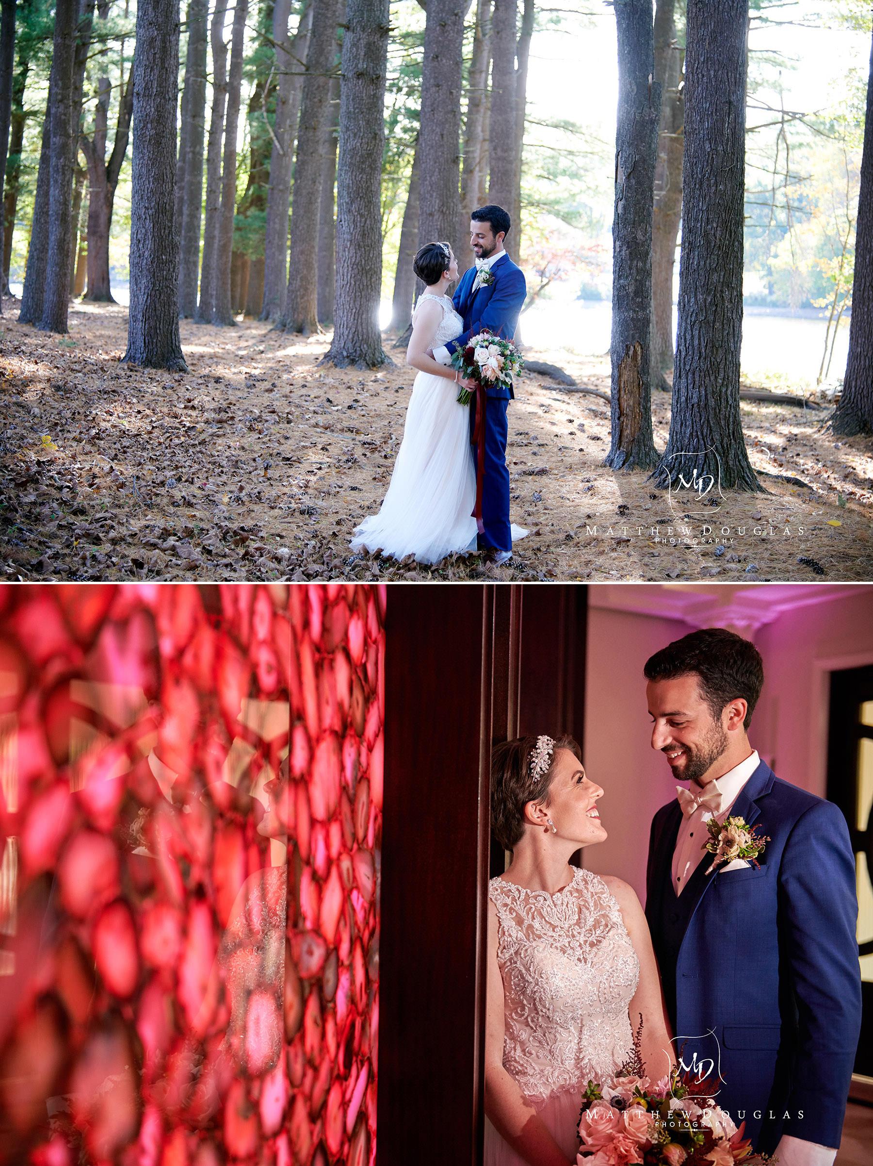 romantic wedding photos at The Estate at Farrington Lake