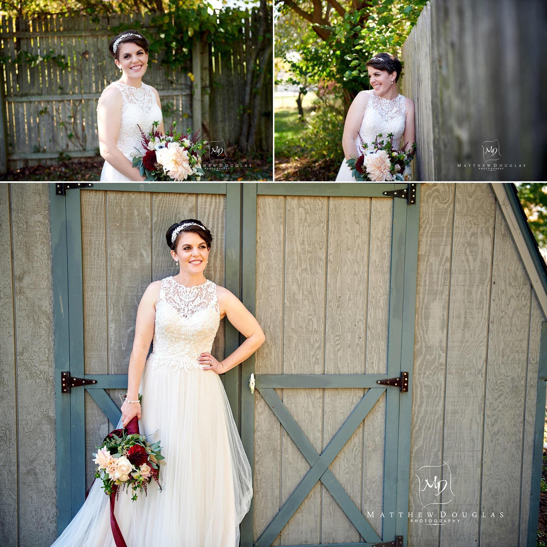 bride portrait photos