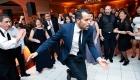 Bernards Inn wedding dancing photo