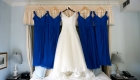 bride dress at bernards inn wedding