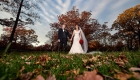 dramatic NJ wedding photo garret mountain
