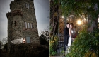 epic nj wedding photo garret mountain