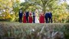 estate at farrington lake wedding party
