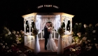 farmhouse grand colonial wedding gazebo night picture