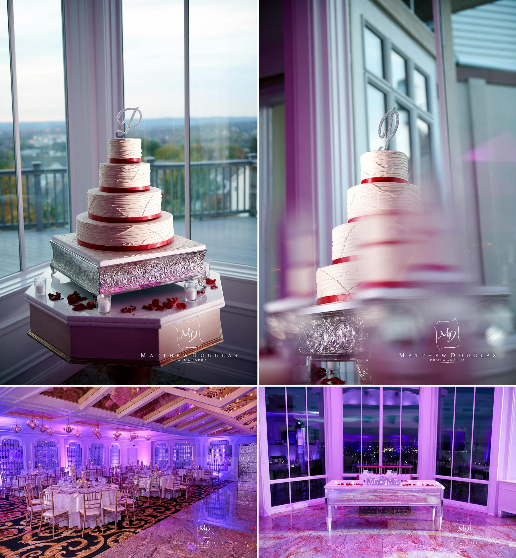 wedding cake details westmount country club