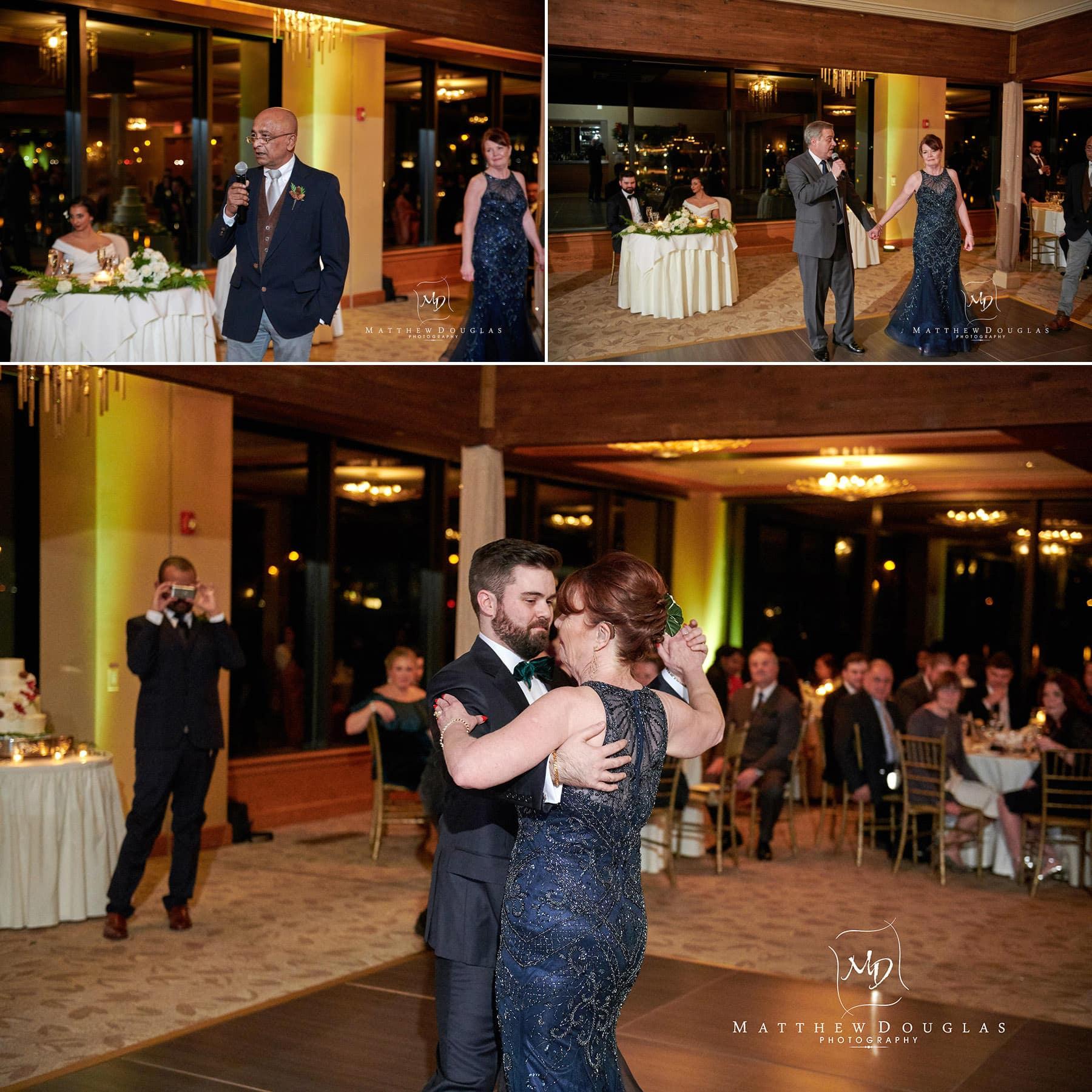 lambertville station inn wedding toasts photo