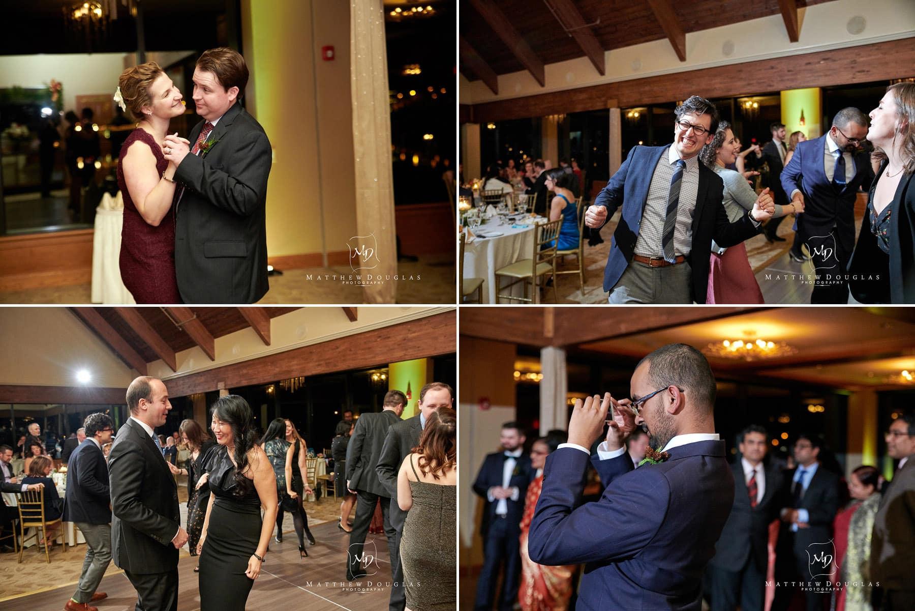 lambertville station inn wedding dancing photo