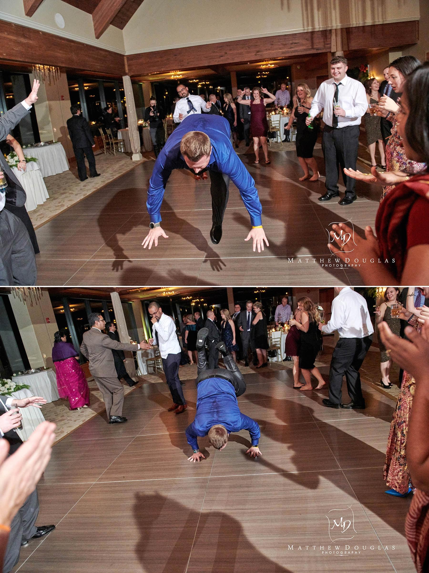lambertville station inn wedding guest dancing photo