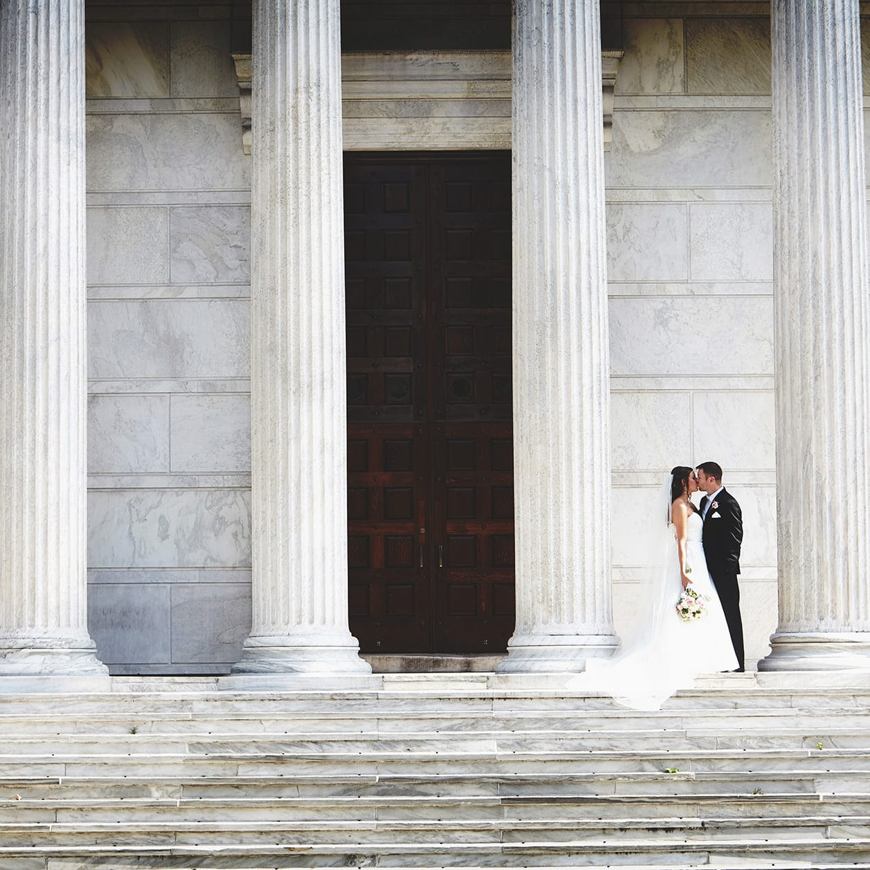 romantic princeton university wedding photo
