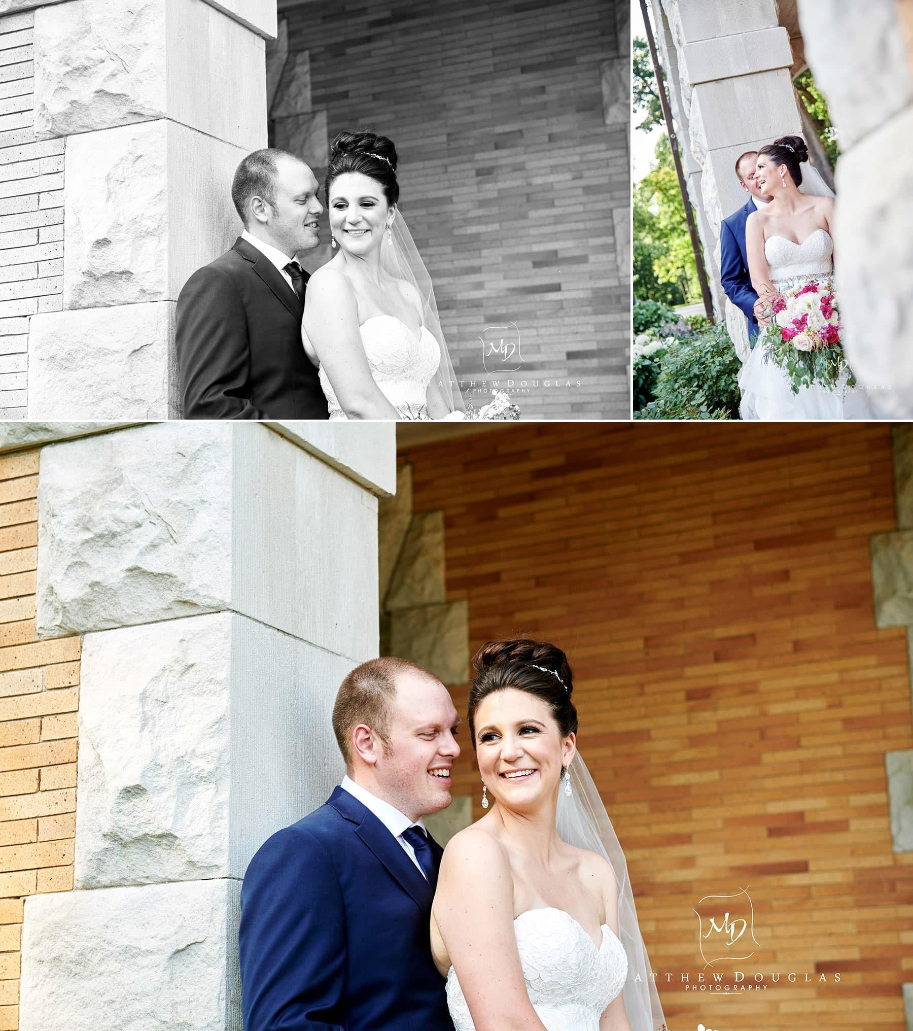 cairnwood estate wedding bride and groom