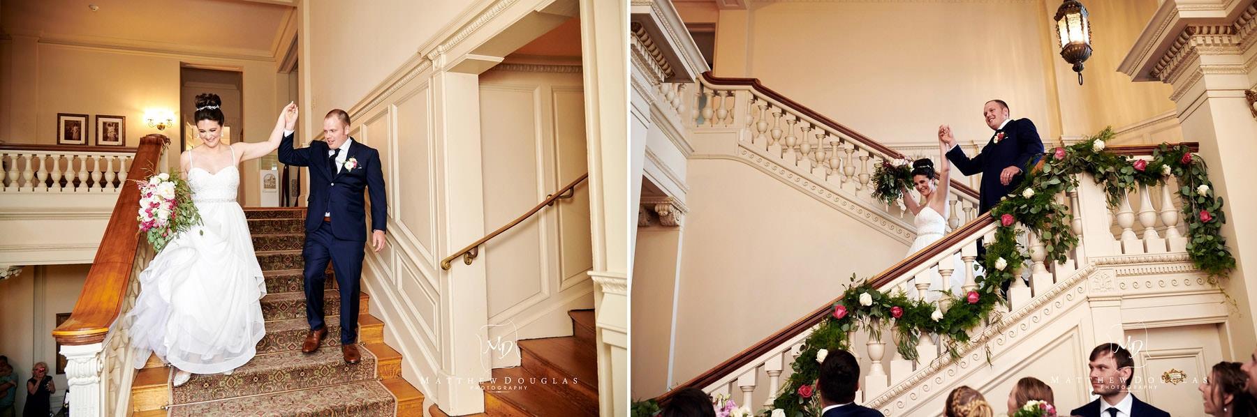 cairnwood estate wedding grand entrance