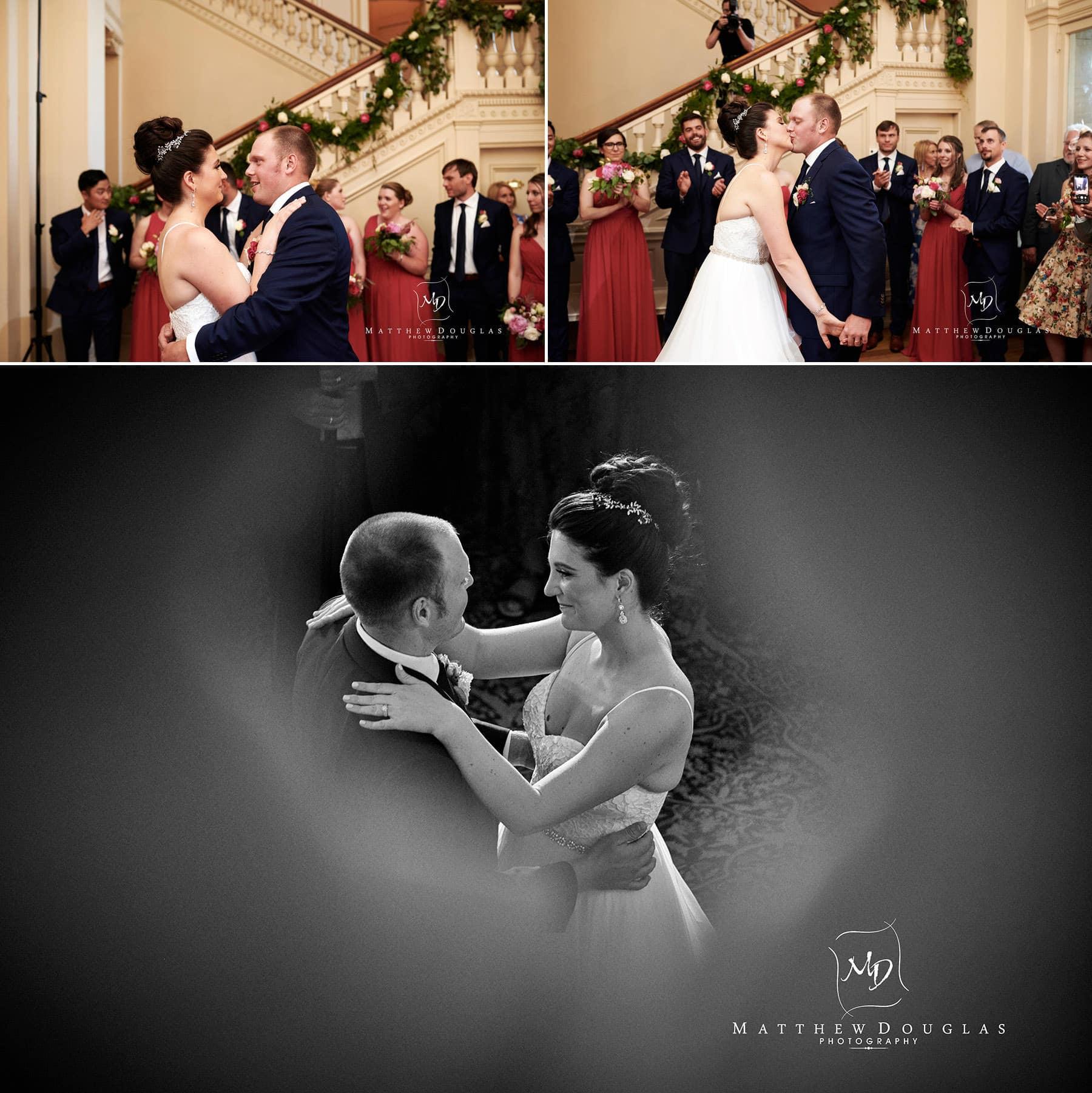 cairnwood estate wedding first dances