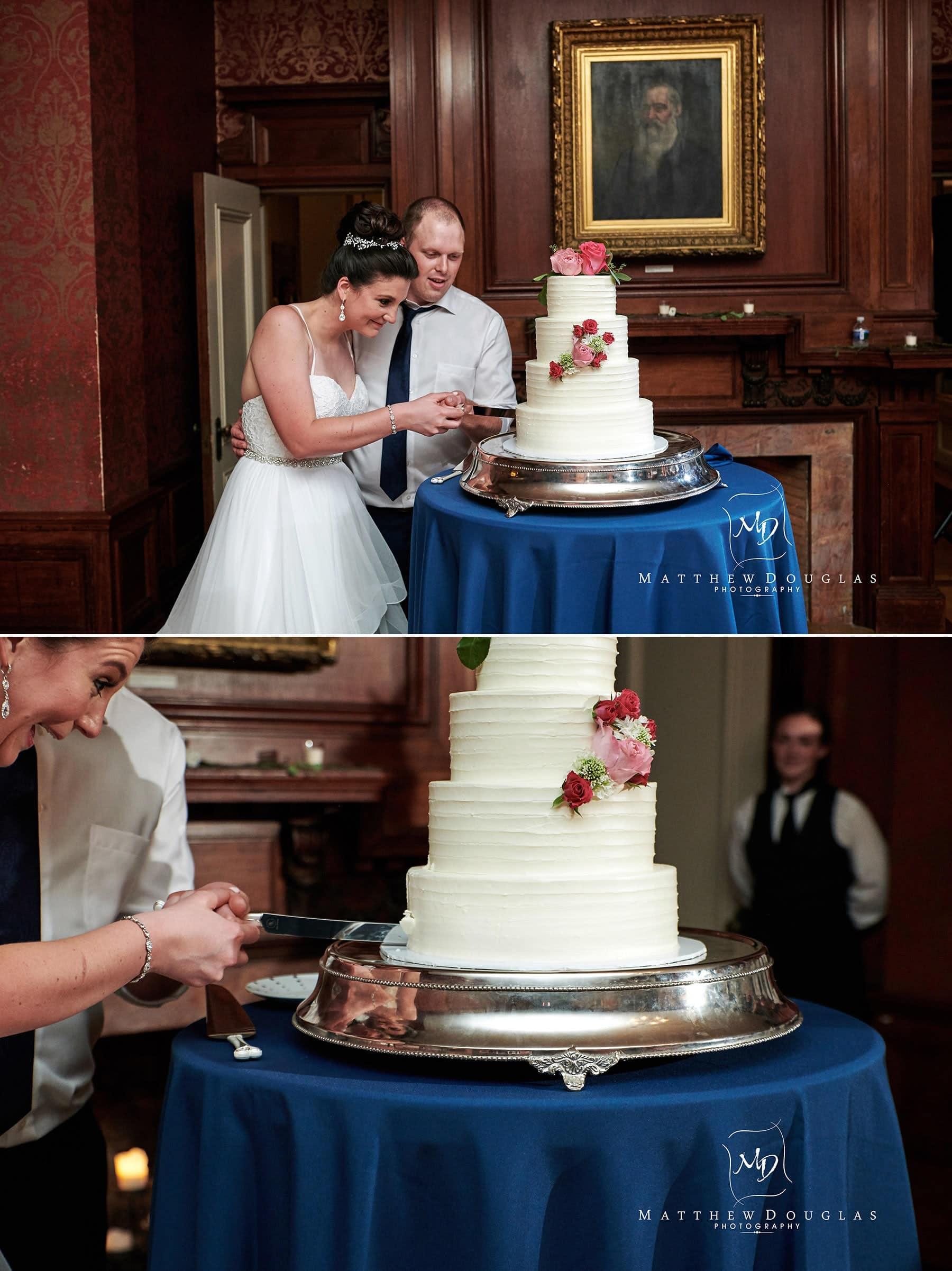 cairnwood estate wedding cake cutting