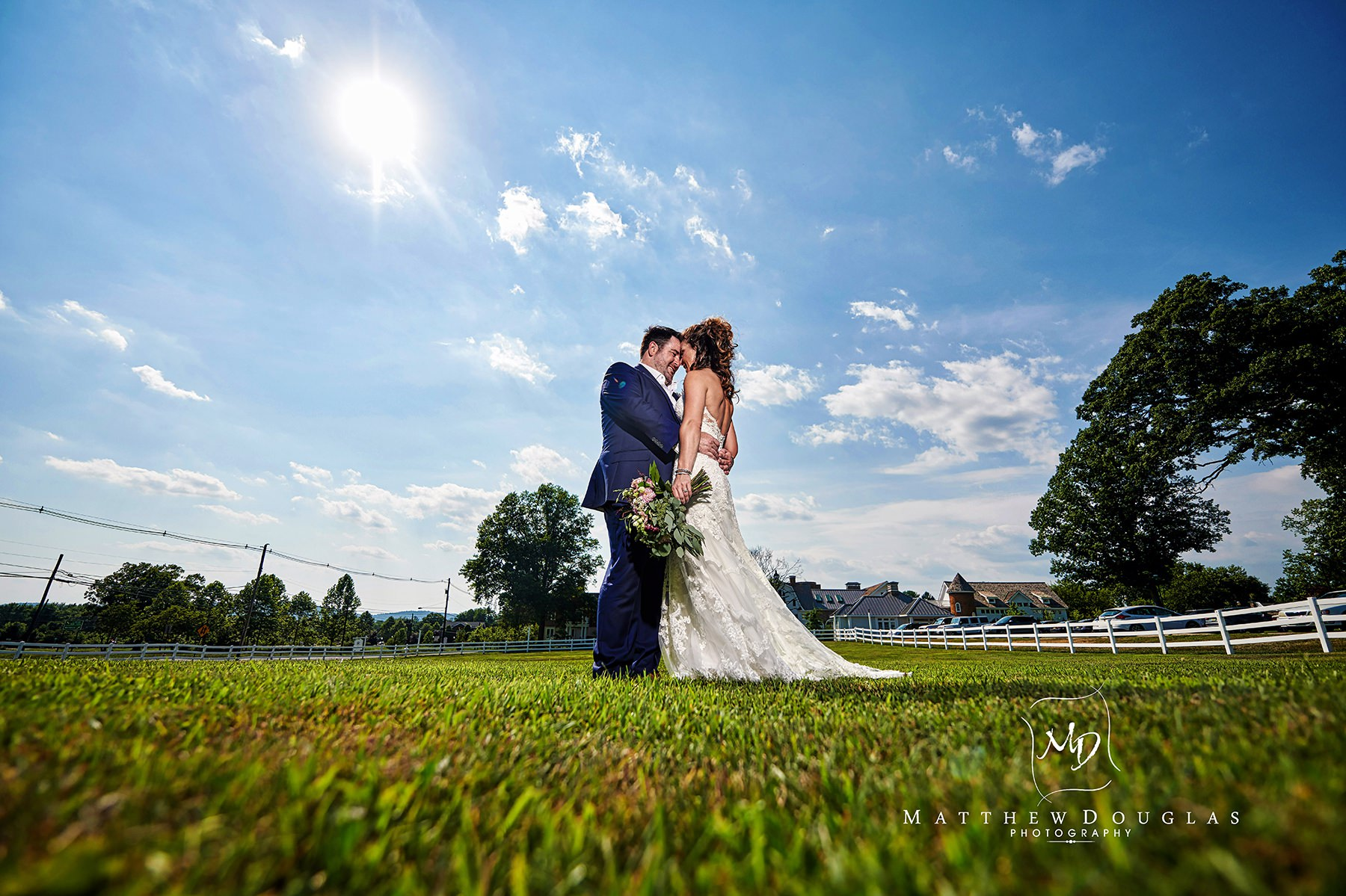 unique ryland inn wedding photo