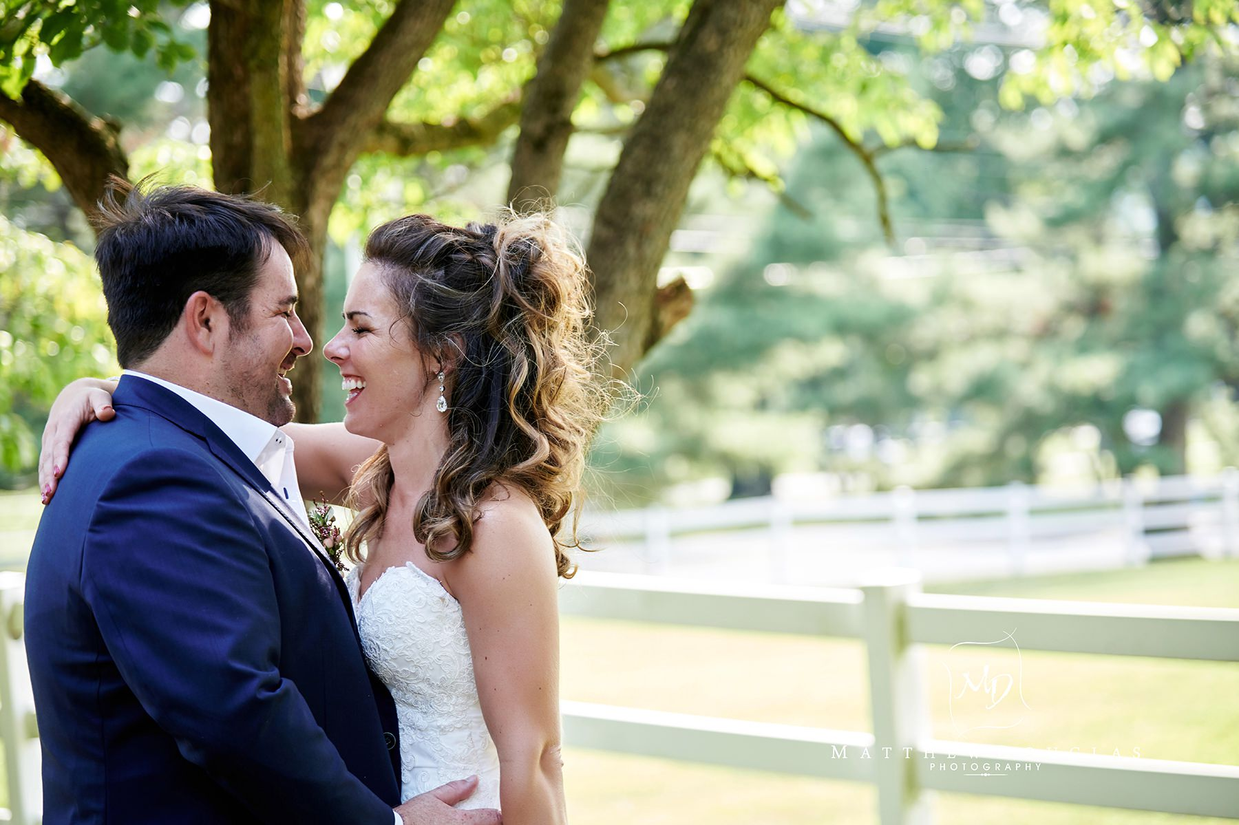 romantic ryland inn wedding
