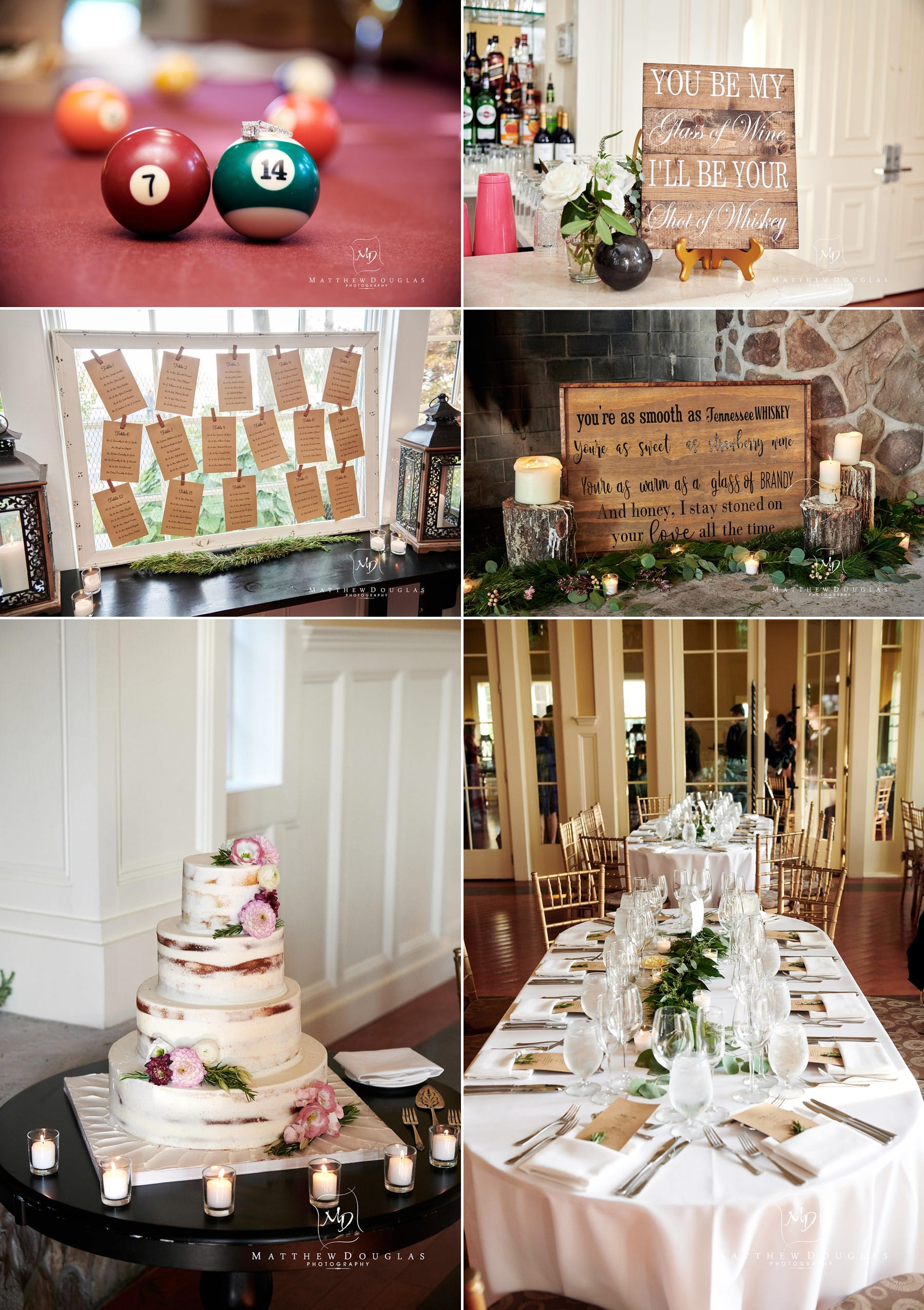 ryland inn wedding details