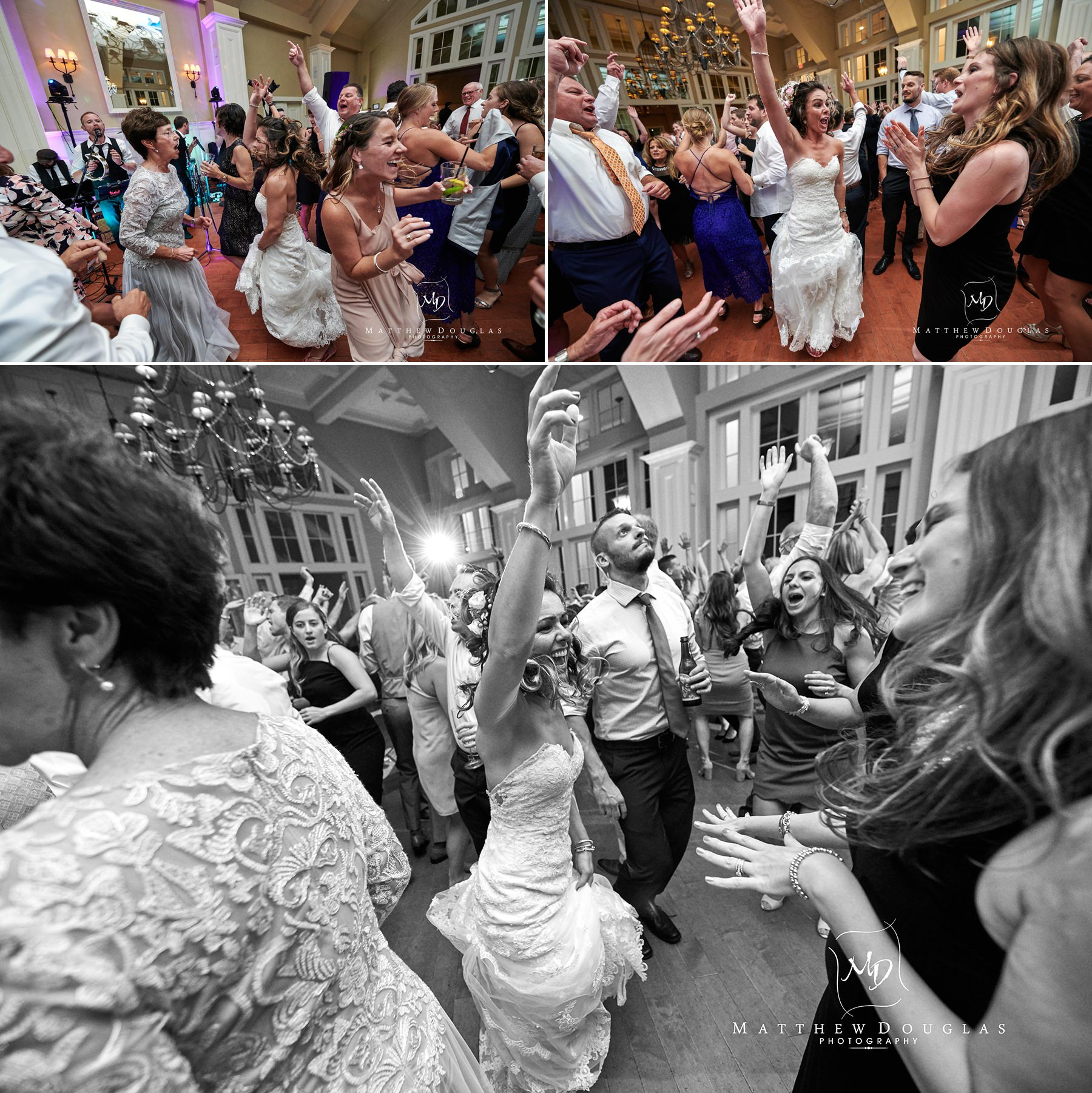 ryland inn wedding epic party