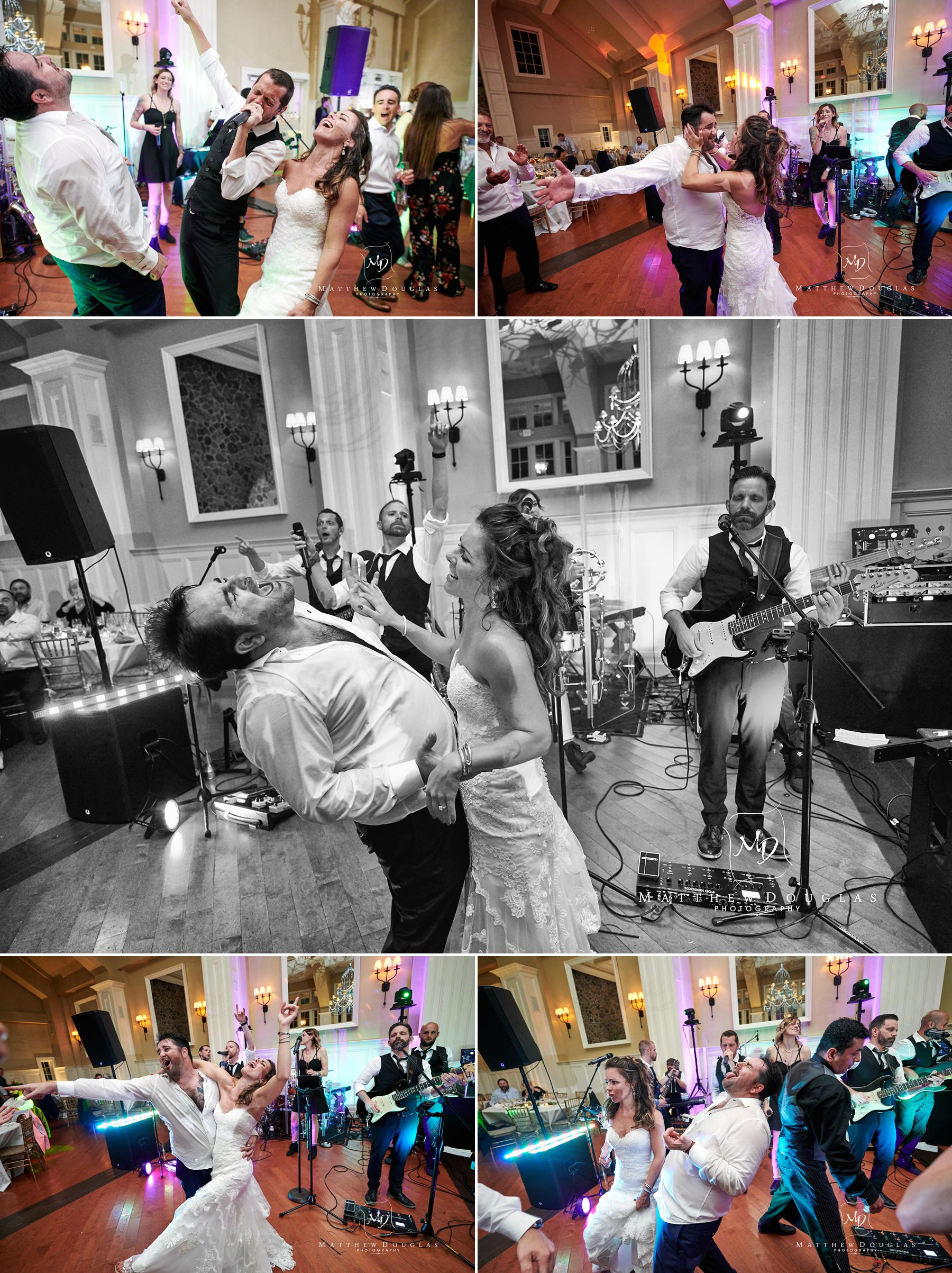 the nines rocking ryland inn wedding