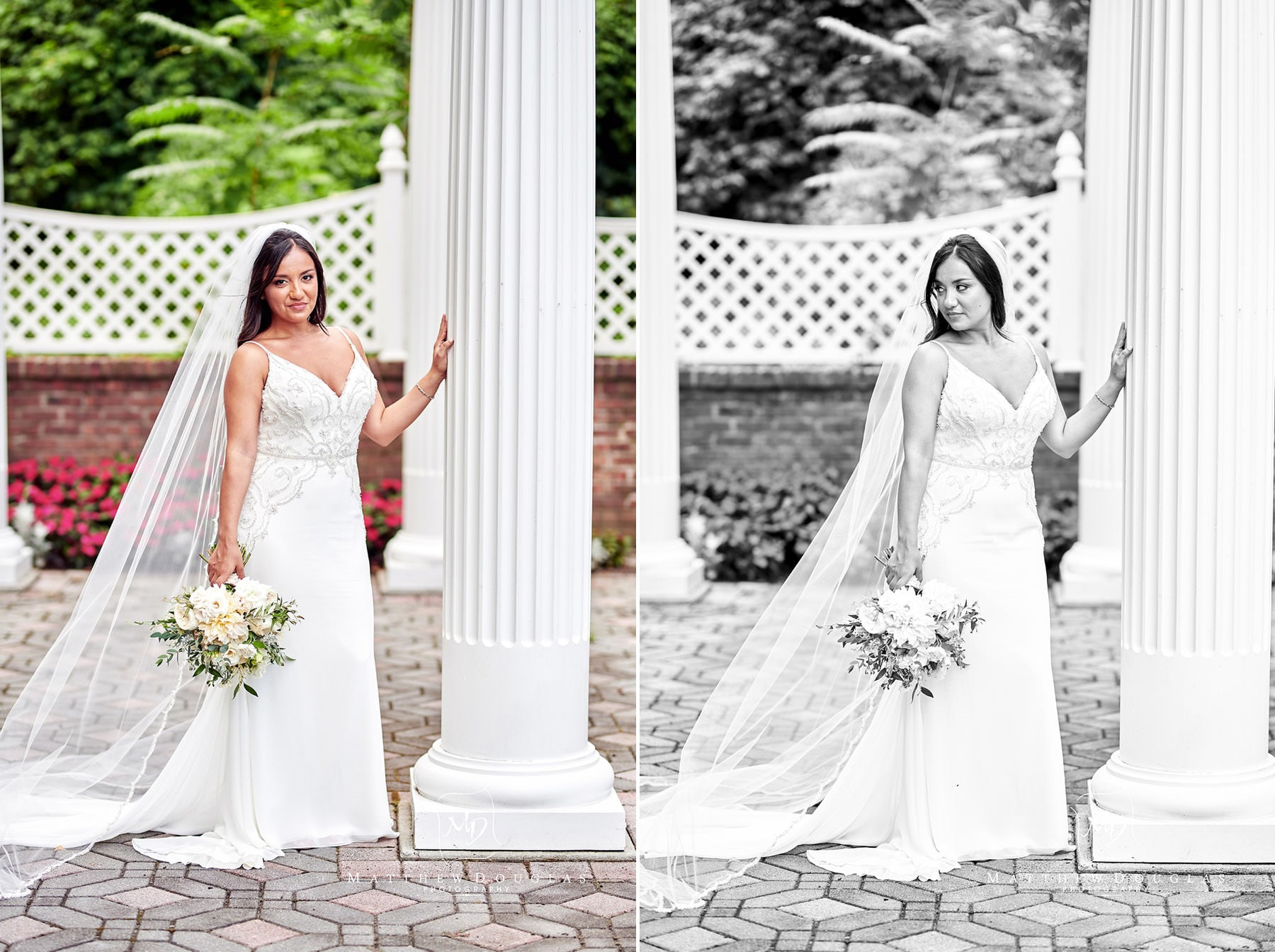 stunning jessica in her shadowbrook nj wedding photo