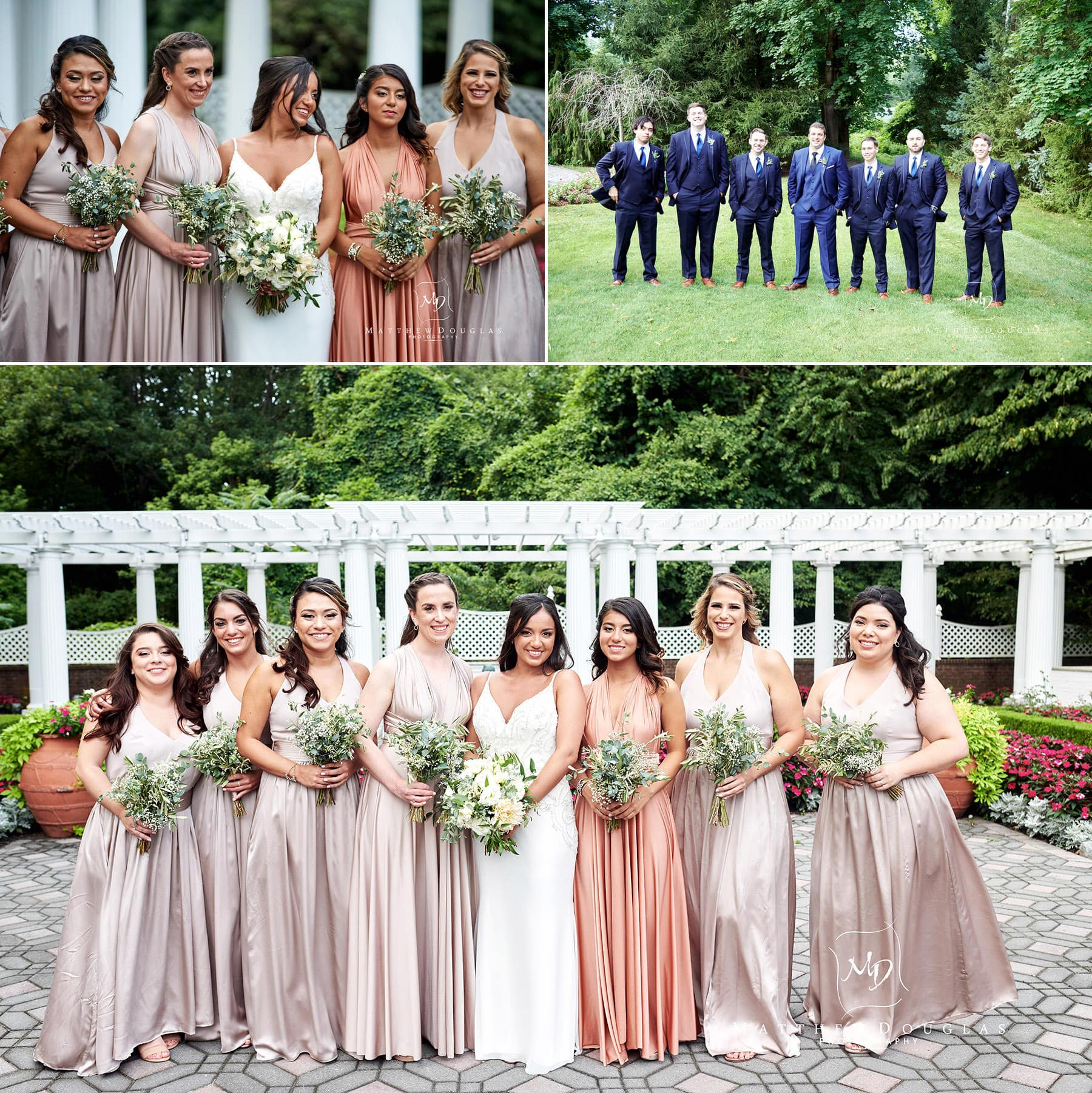 bridesmaids shadowbrook nj wedding photo