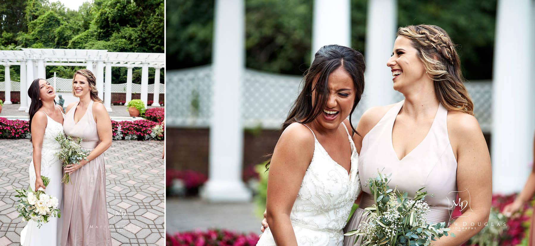 funny shadowbrook nj wedding photo