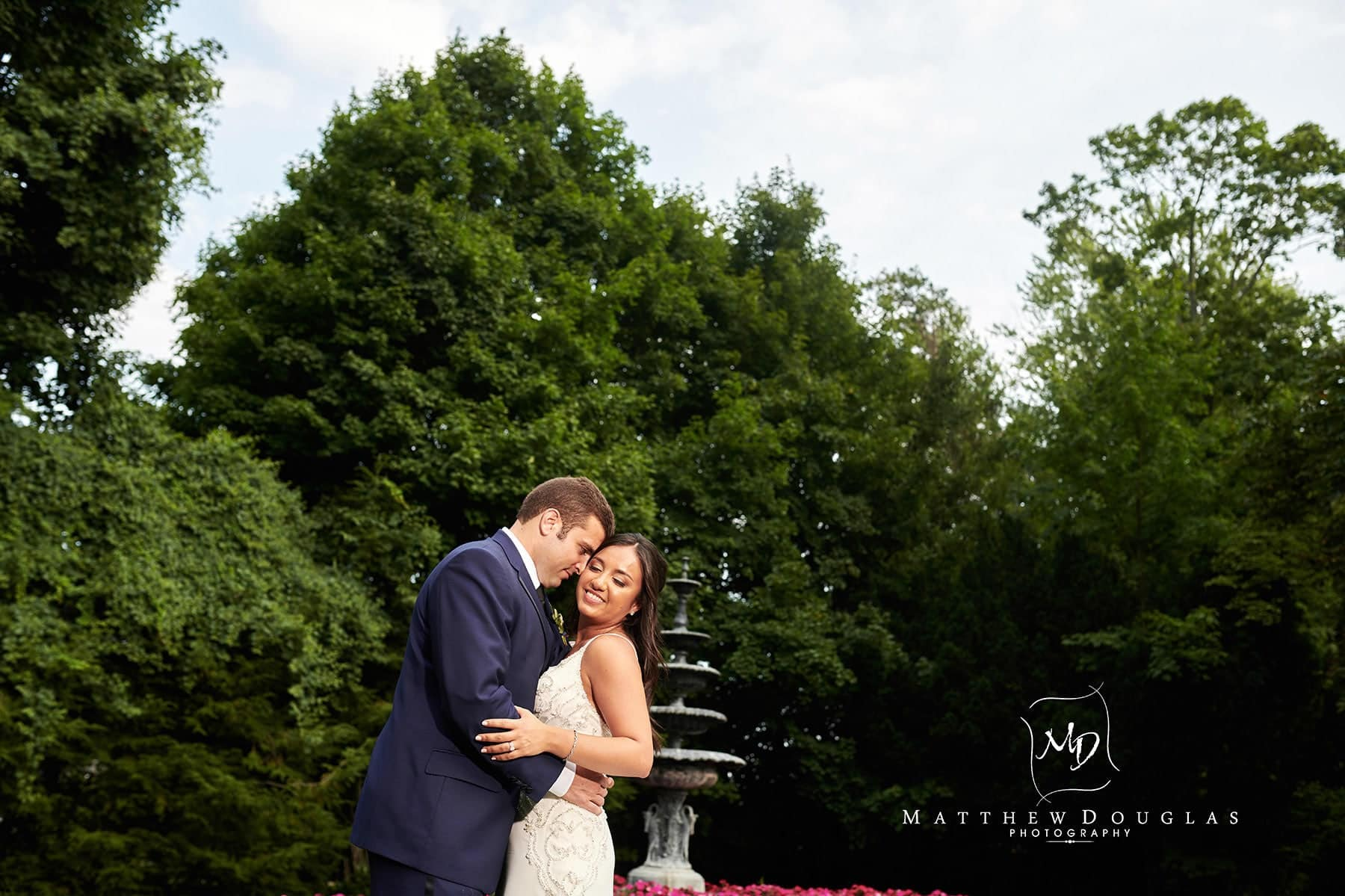 romantic shadowbrook nj wedding photo