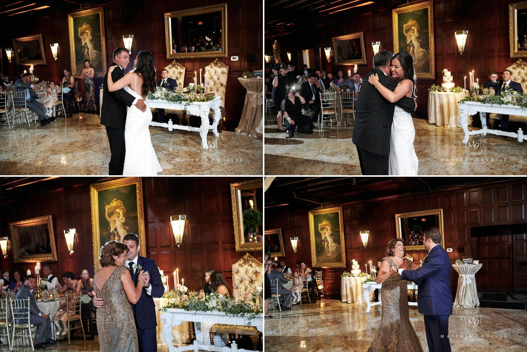 parent dances at their shadowbrook nj wedding