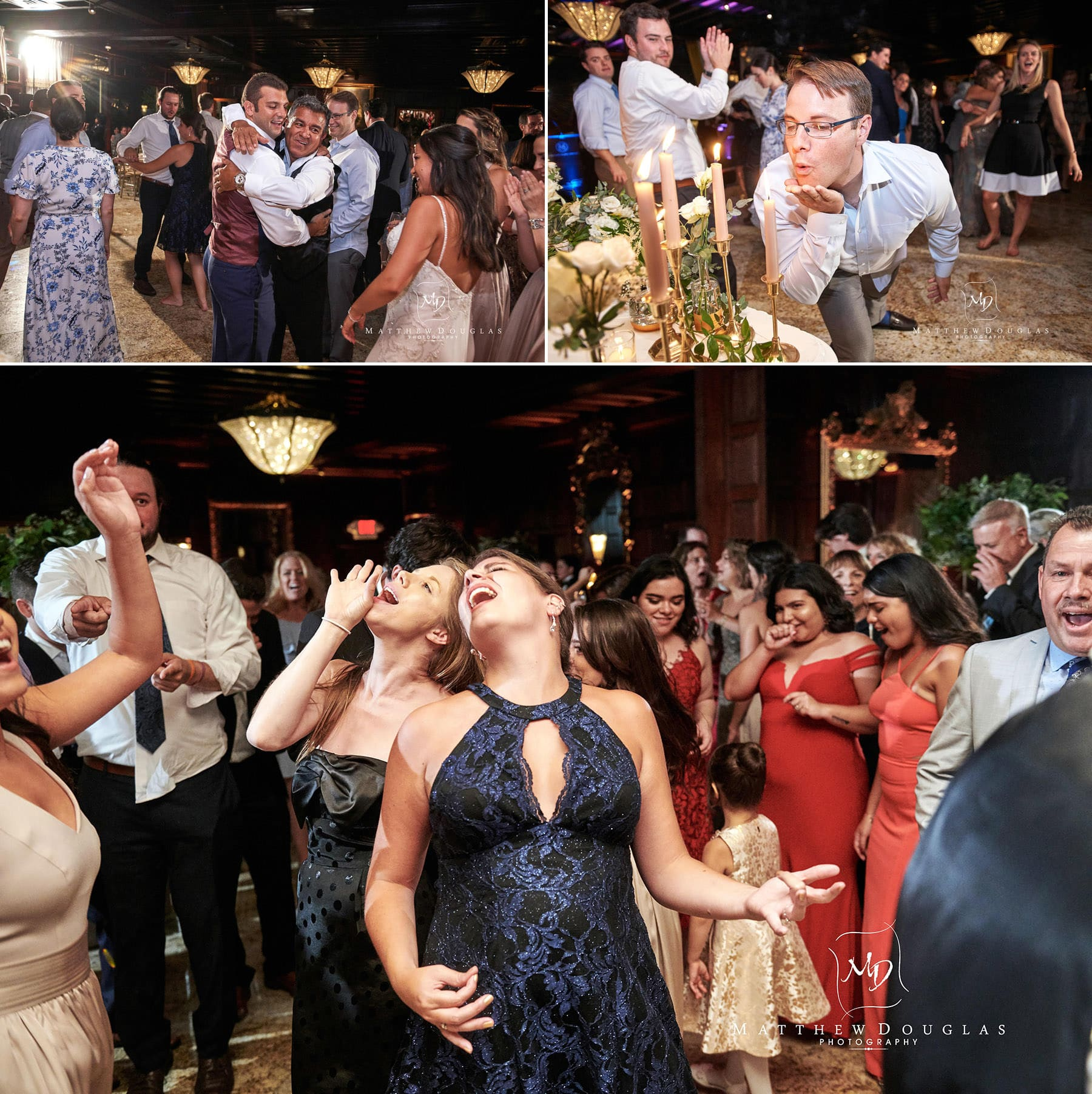 crowds dancing at the shadowbrook nj wedding