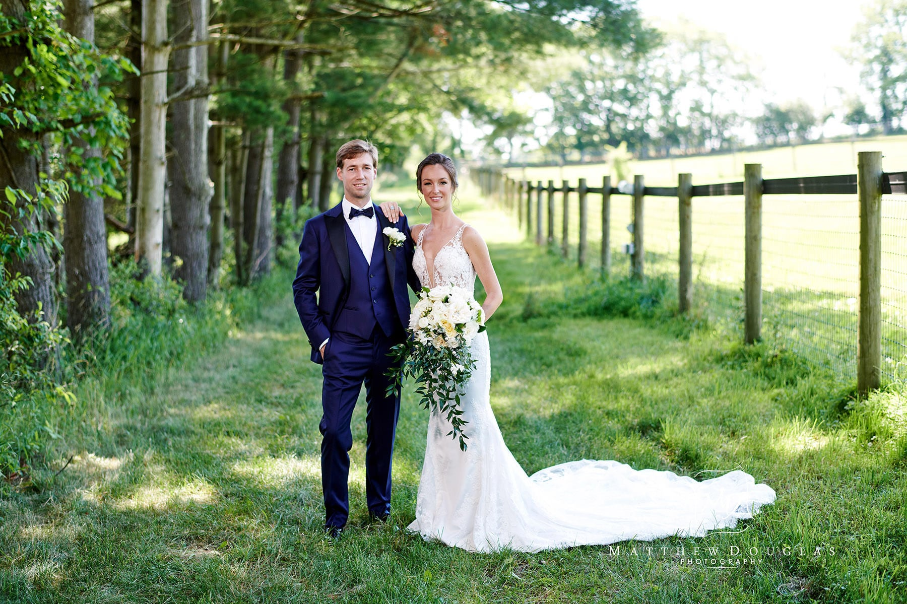 gorgeous bride and groom photo