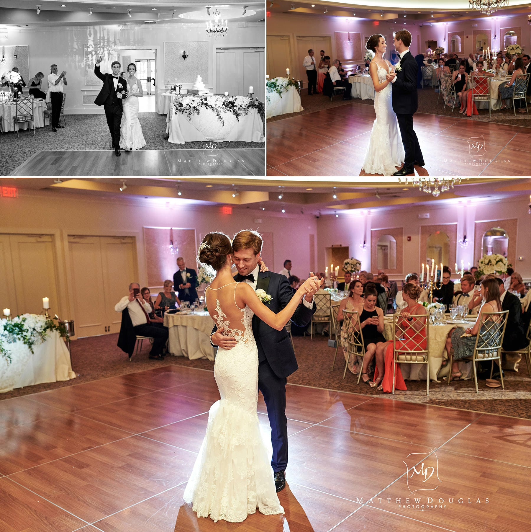 first wedding dance farmhouse at the grand colonial