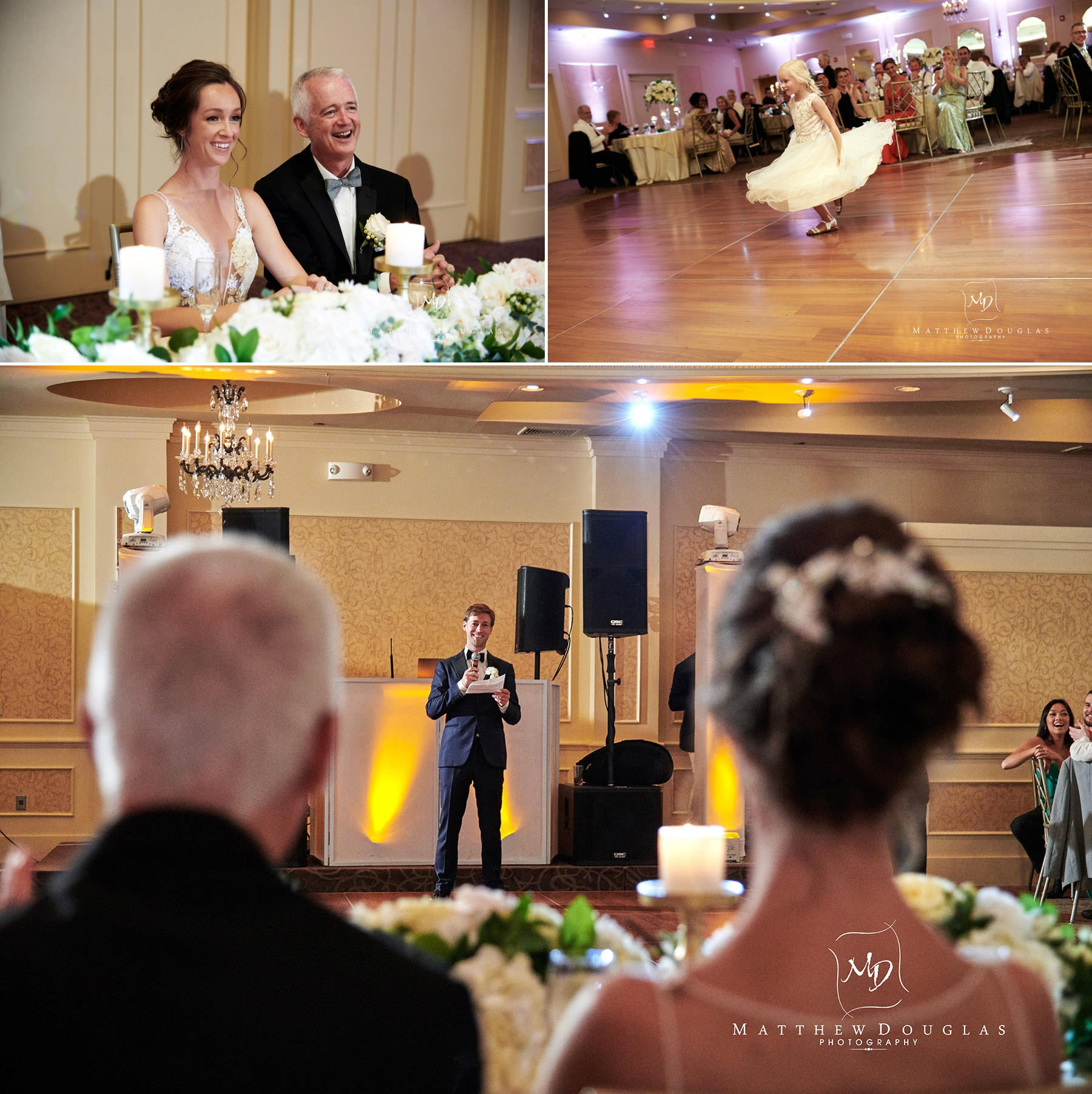 wedding toasts farmhouse at the grand colonial