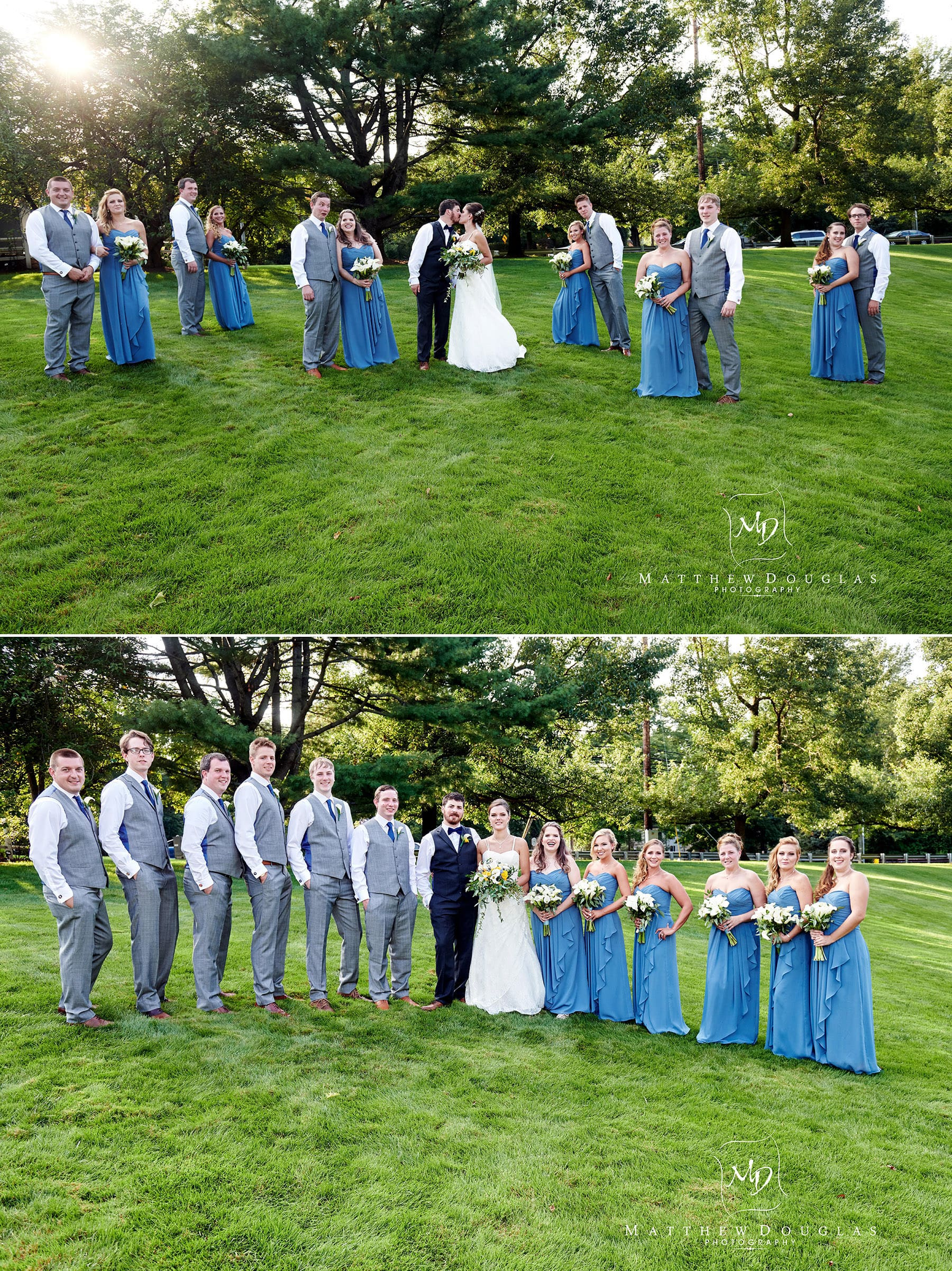 olde mill inn wedding party photos