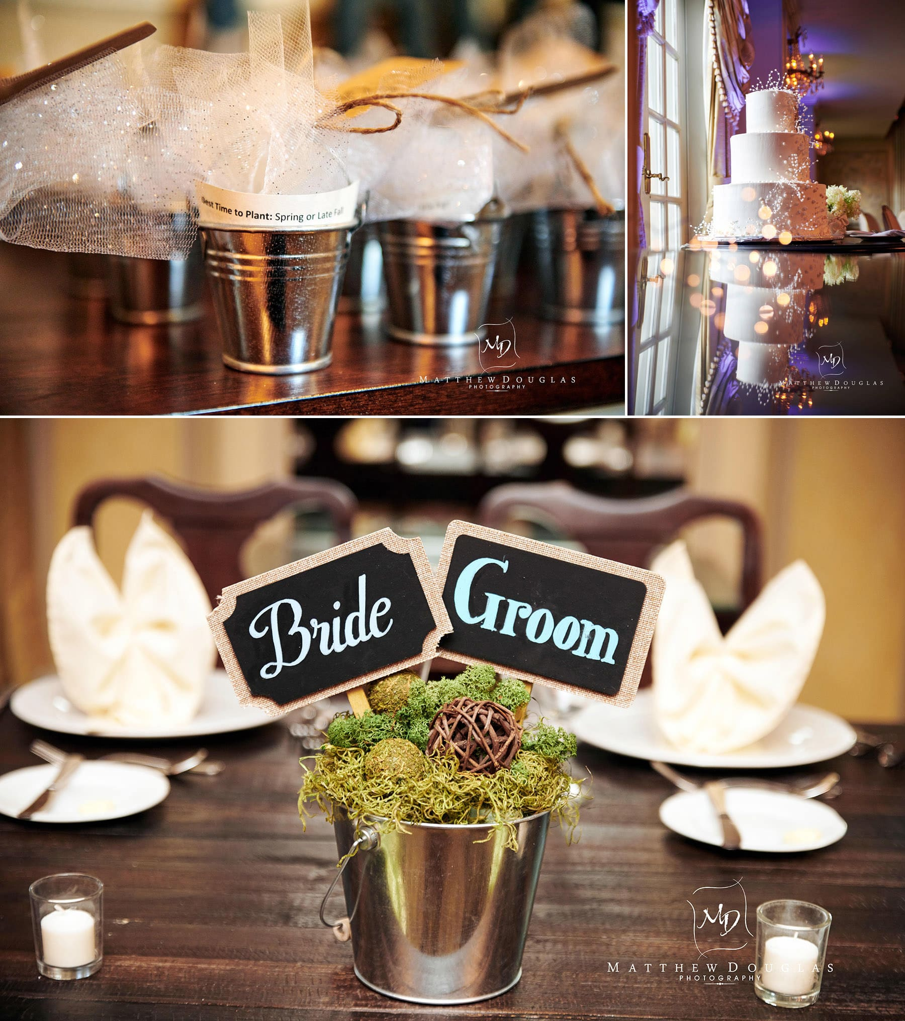olde mill inn wedding detail photos