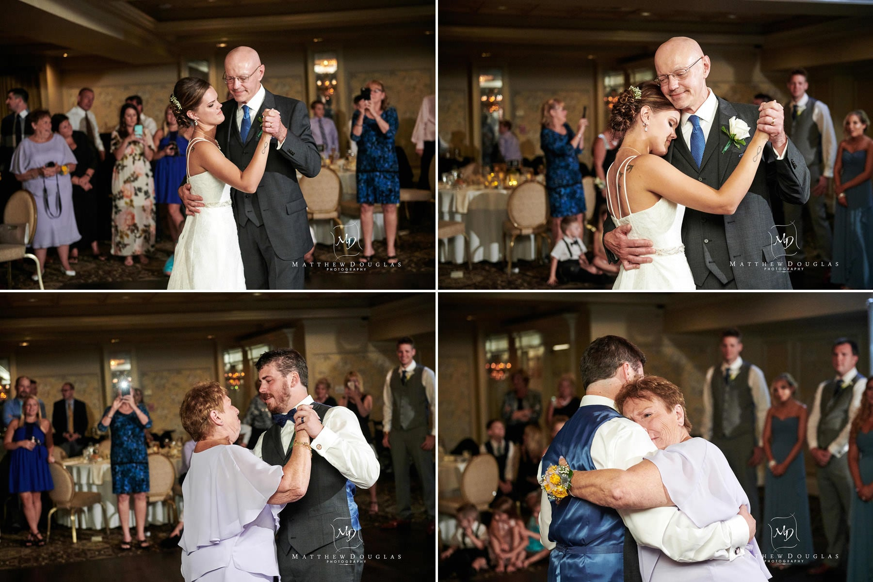 olde mill inn wedding parent dance photos